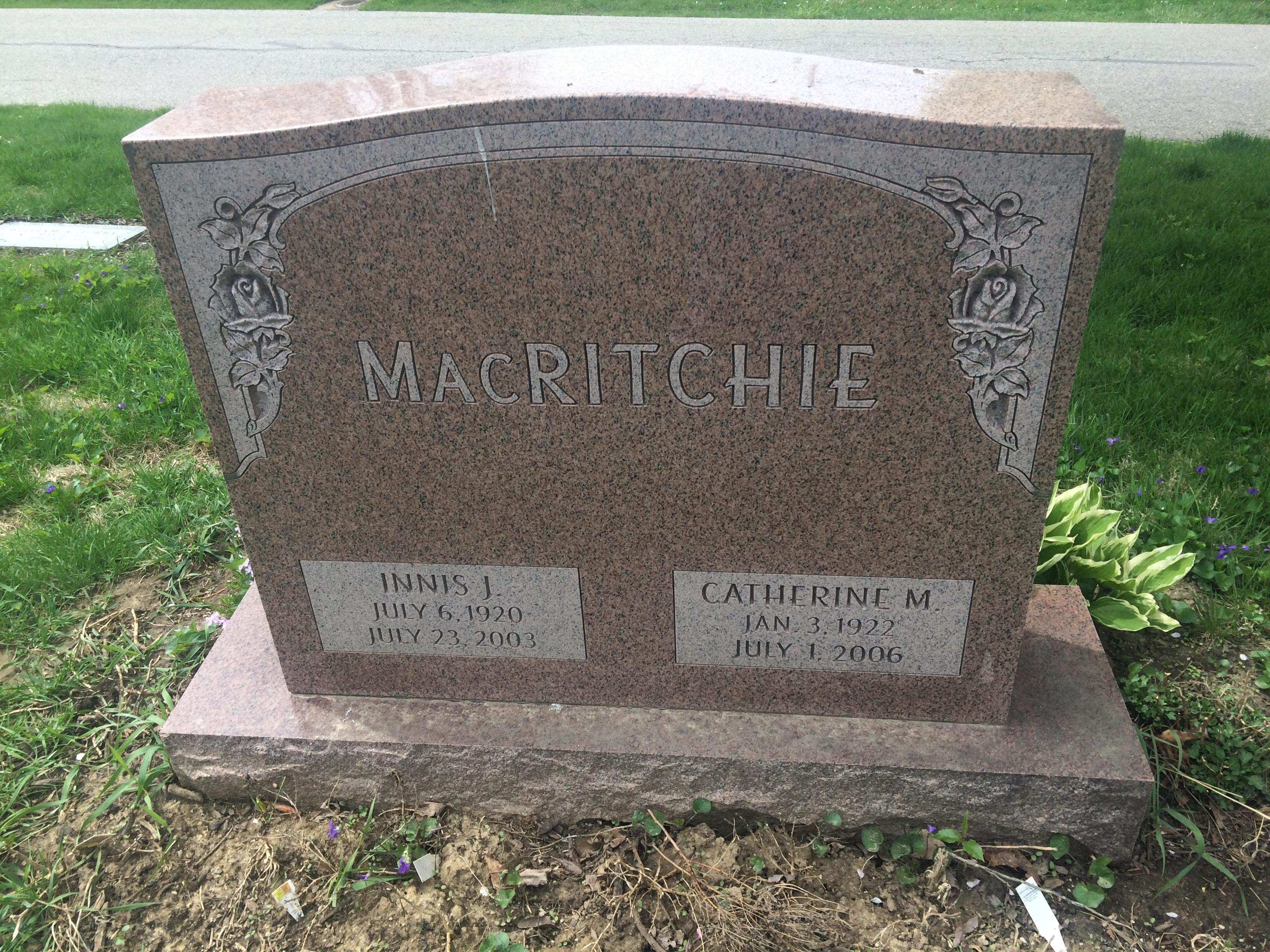 Catherine Christena <i>MacDonald</i> MacRitchie