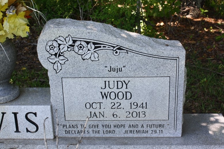 Blanche Judith Judy <i>Wood</i> Davis