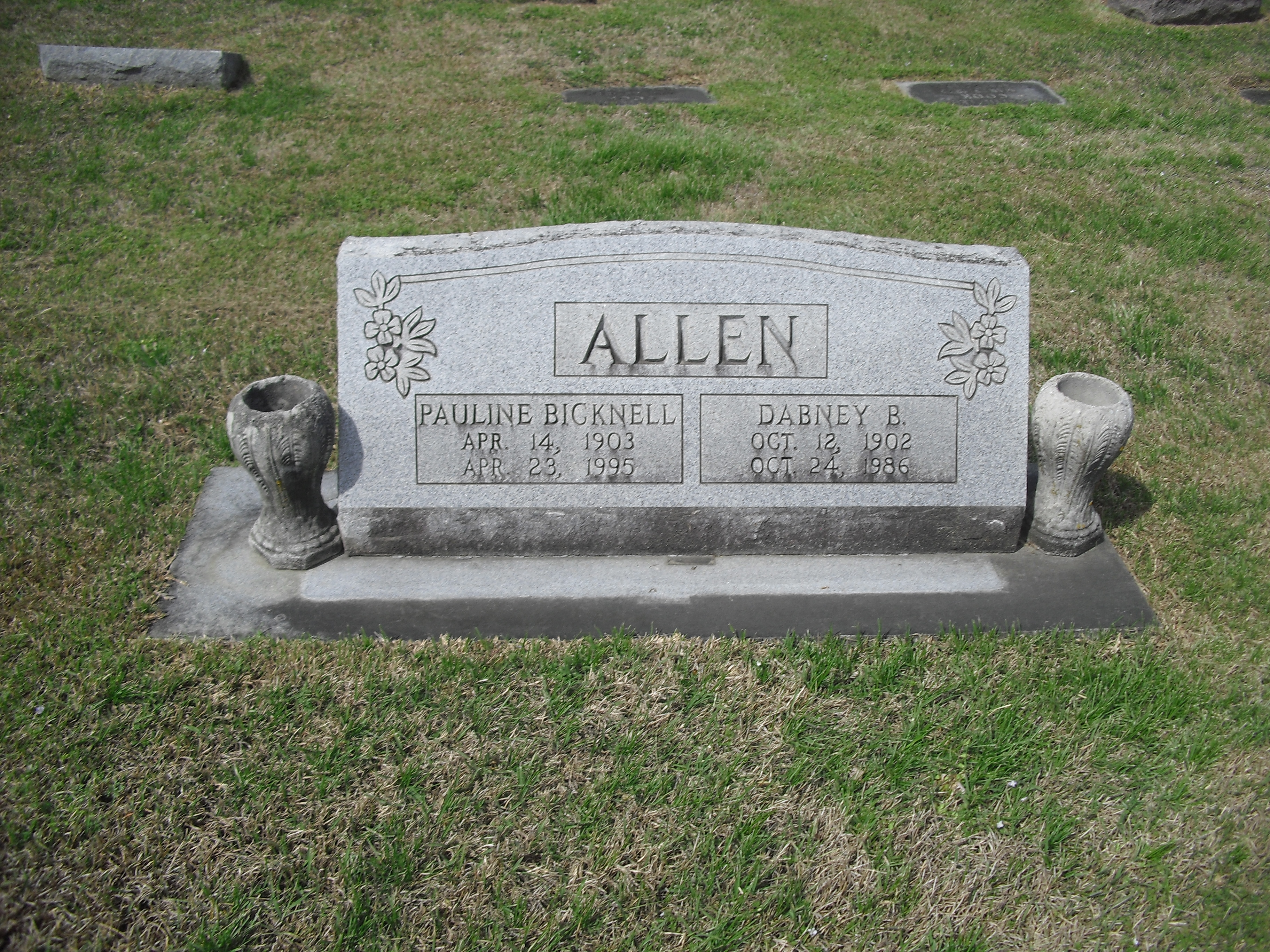 Pauline <i>Bicknell</i> Allen