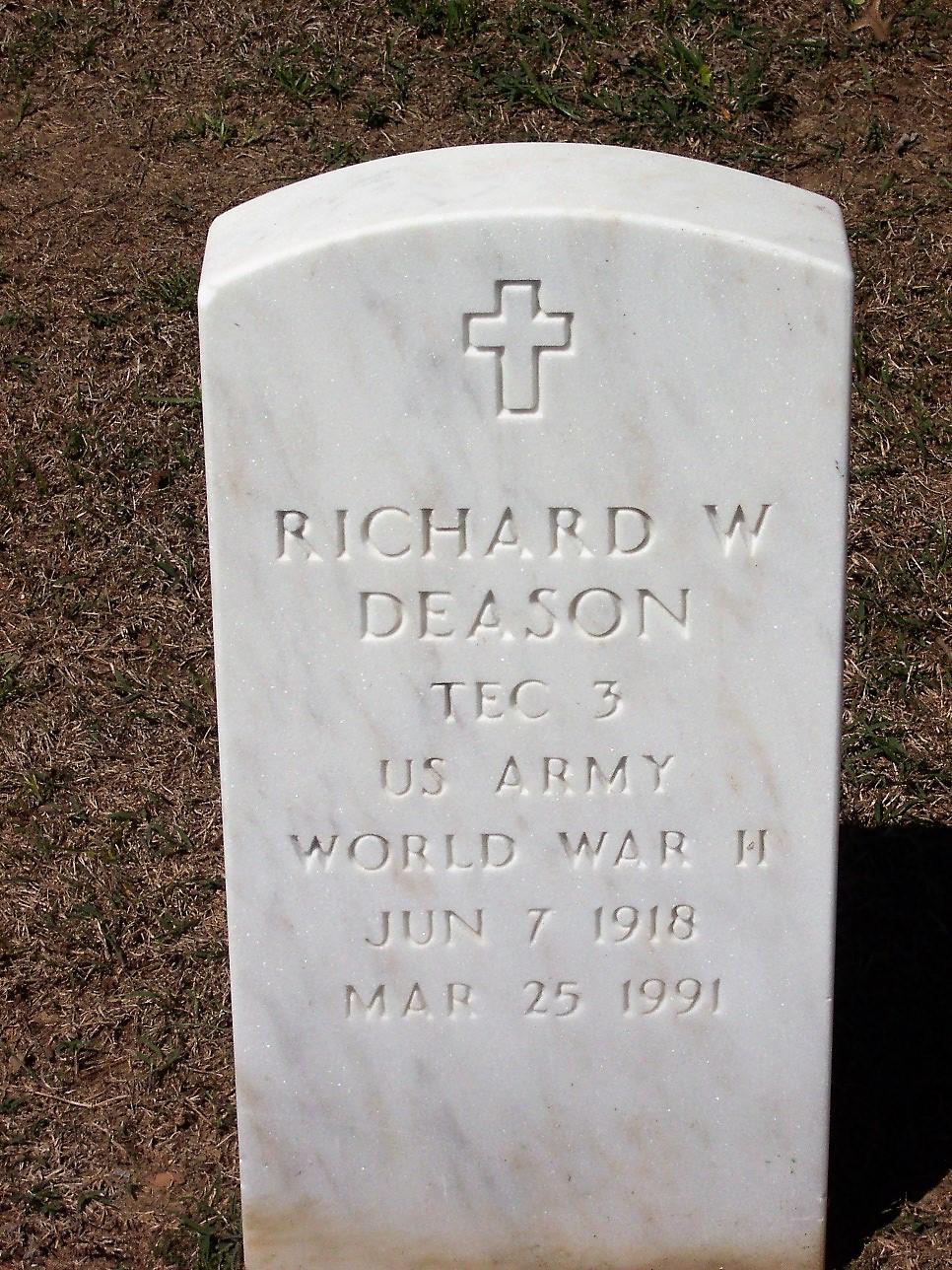 Richard W Deason