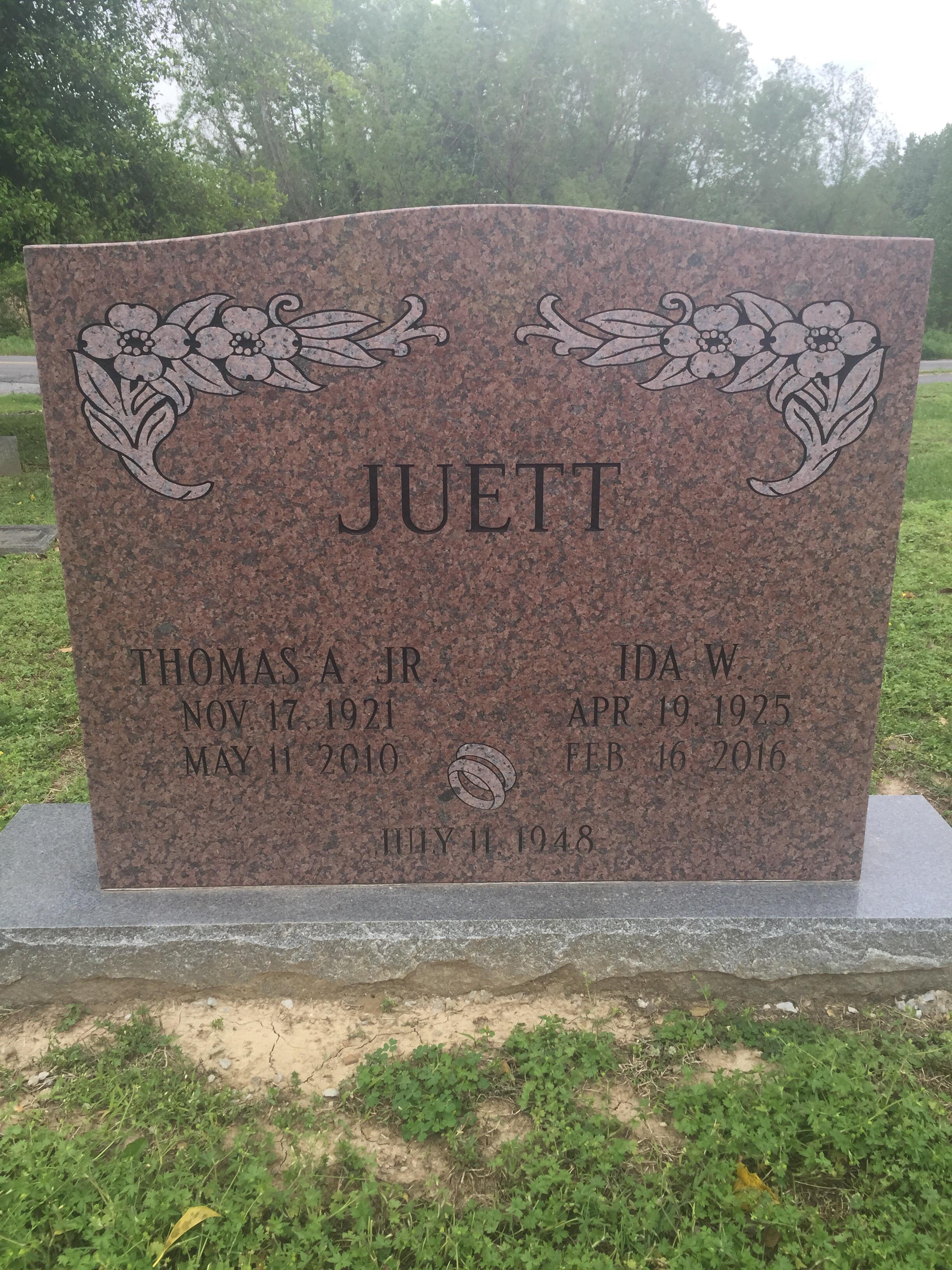 Thomas Albert Tommy Juett, Jr