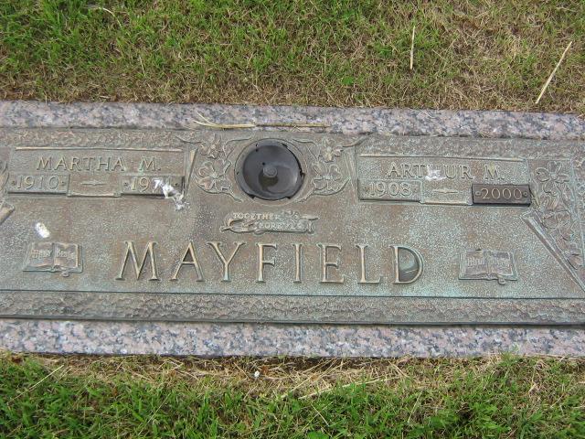 Arthur M Mayfield