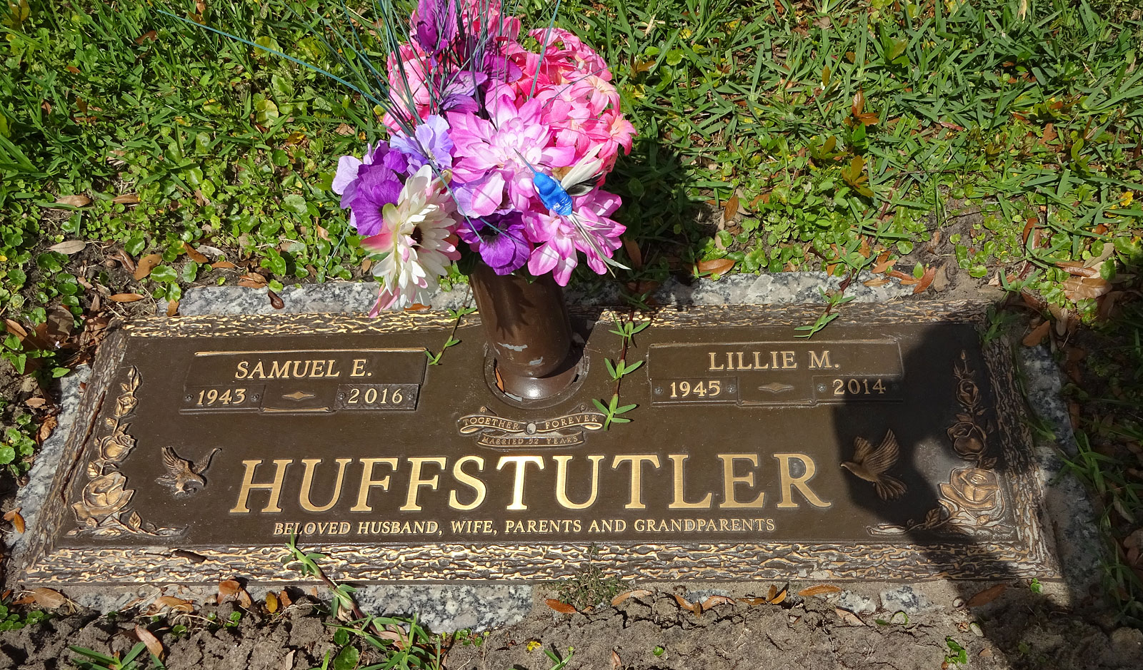 Samuel Ethridge Huffstutler, II (1943-2016) - Find A Grave Memorial