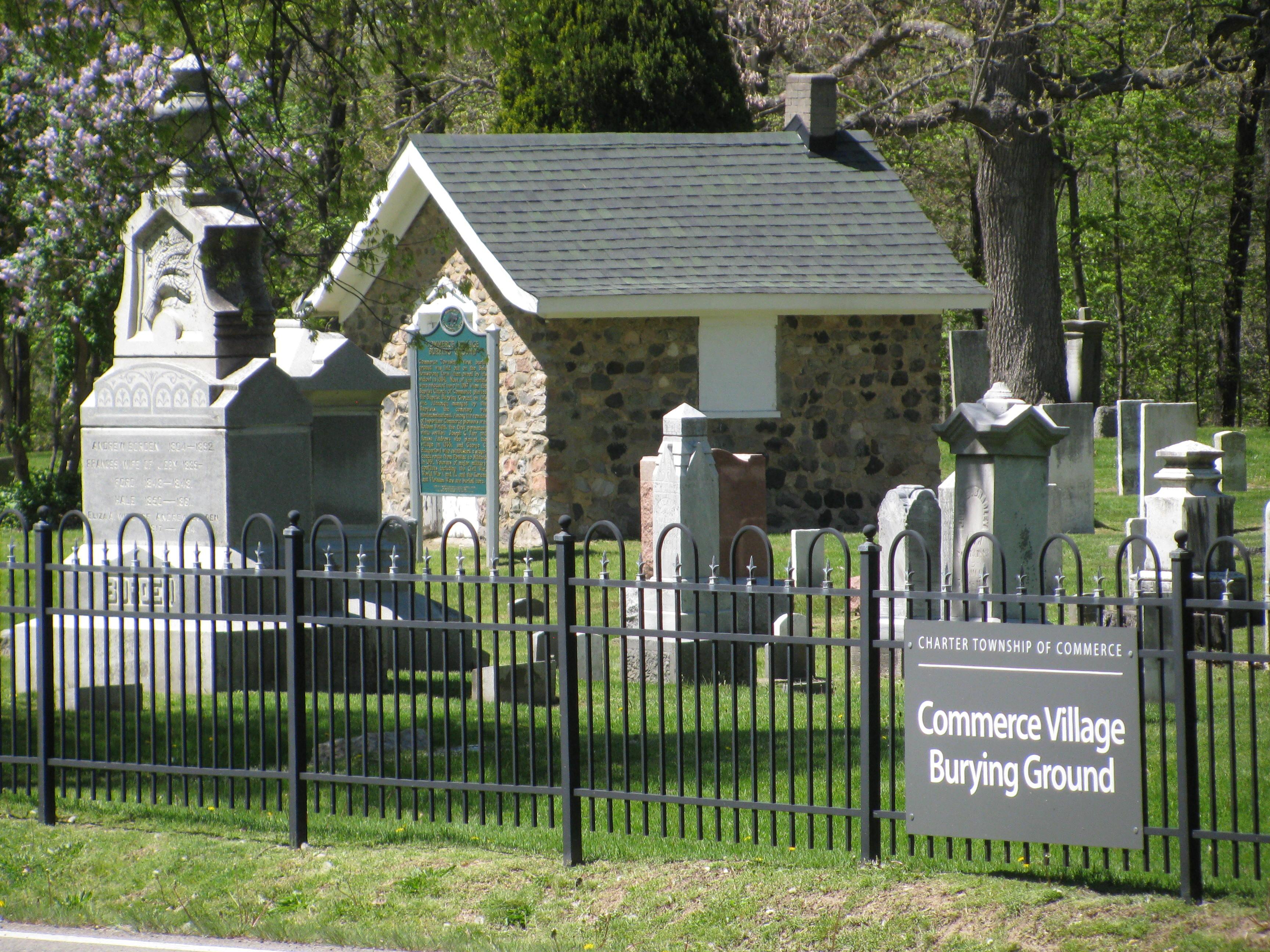 Commerce Village Burying Ground