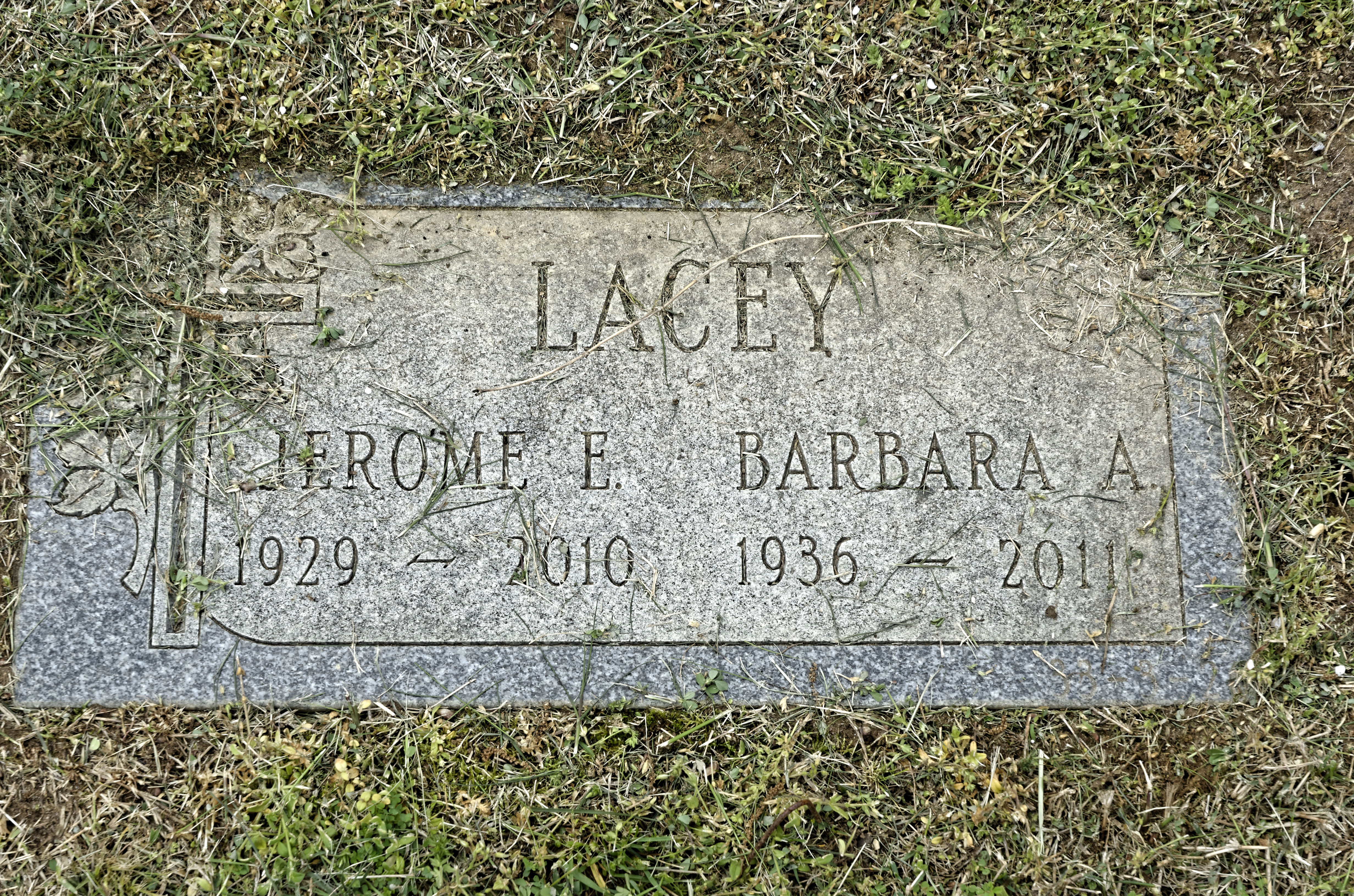 Jerome Elmer Lacey