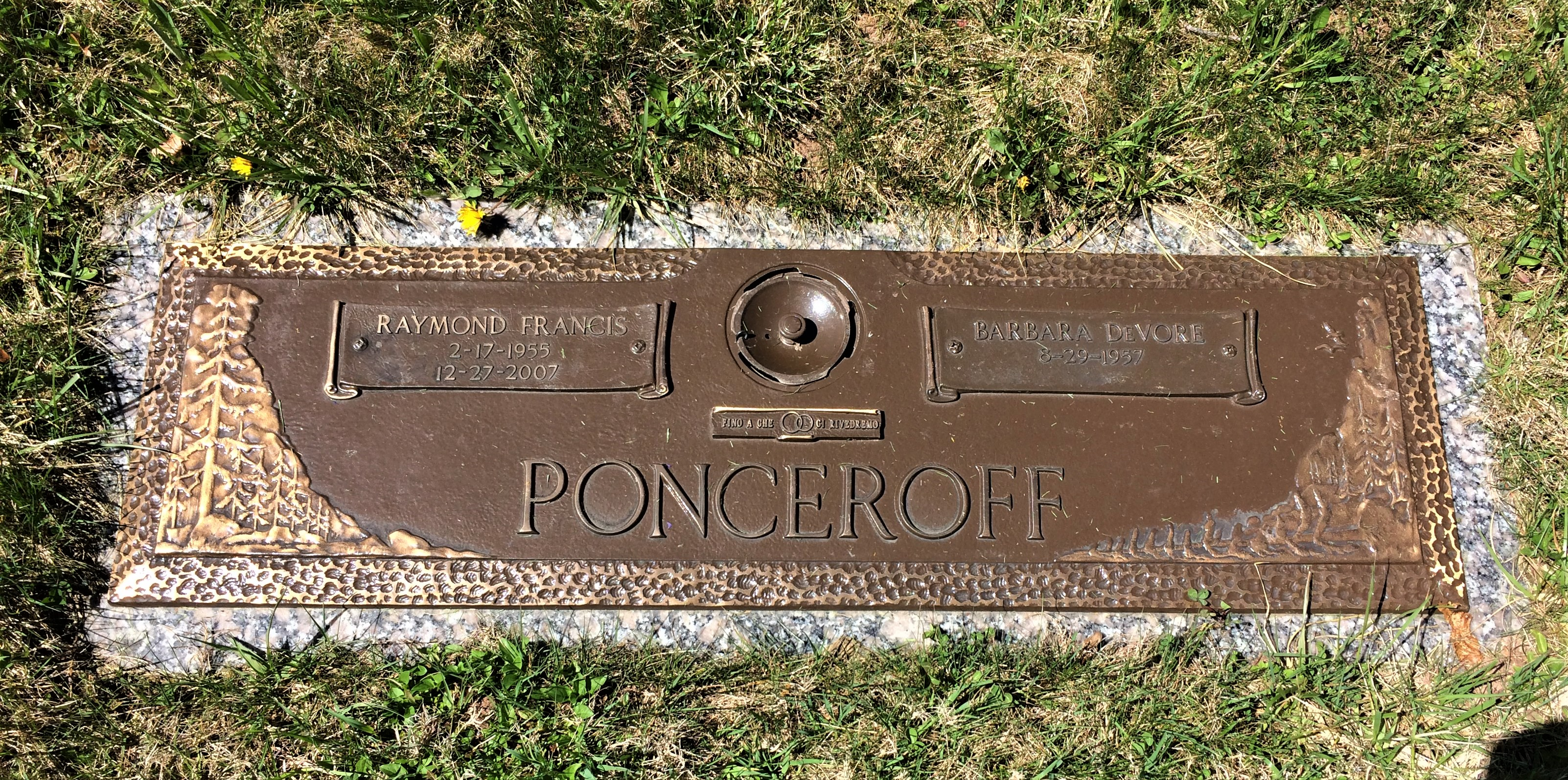 Raymond Francis Ponceroff (1955-2007) - Find A Grave Memorial
