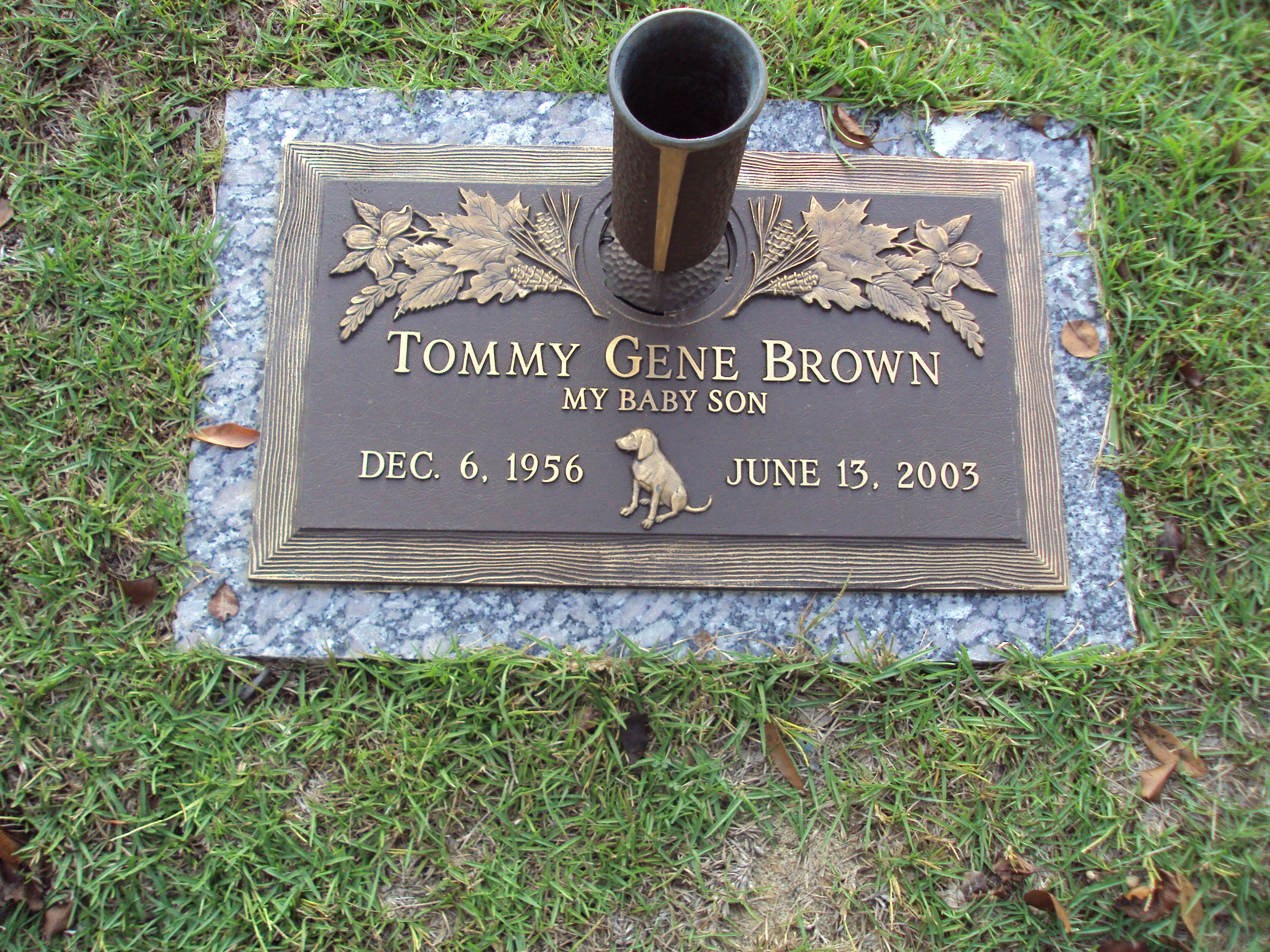 Tommy Gene Brown