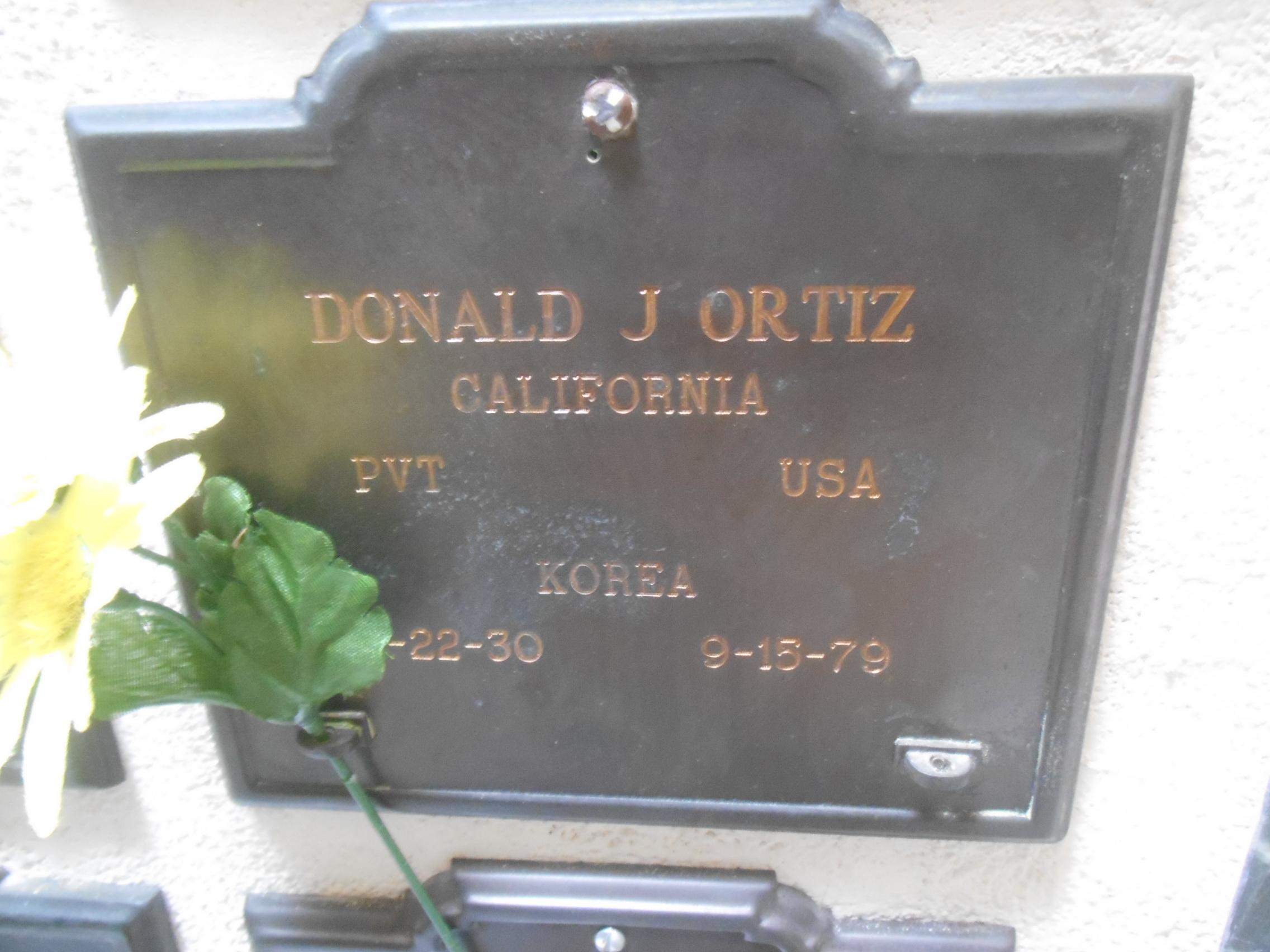 Donald Joseph Ortiz