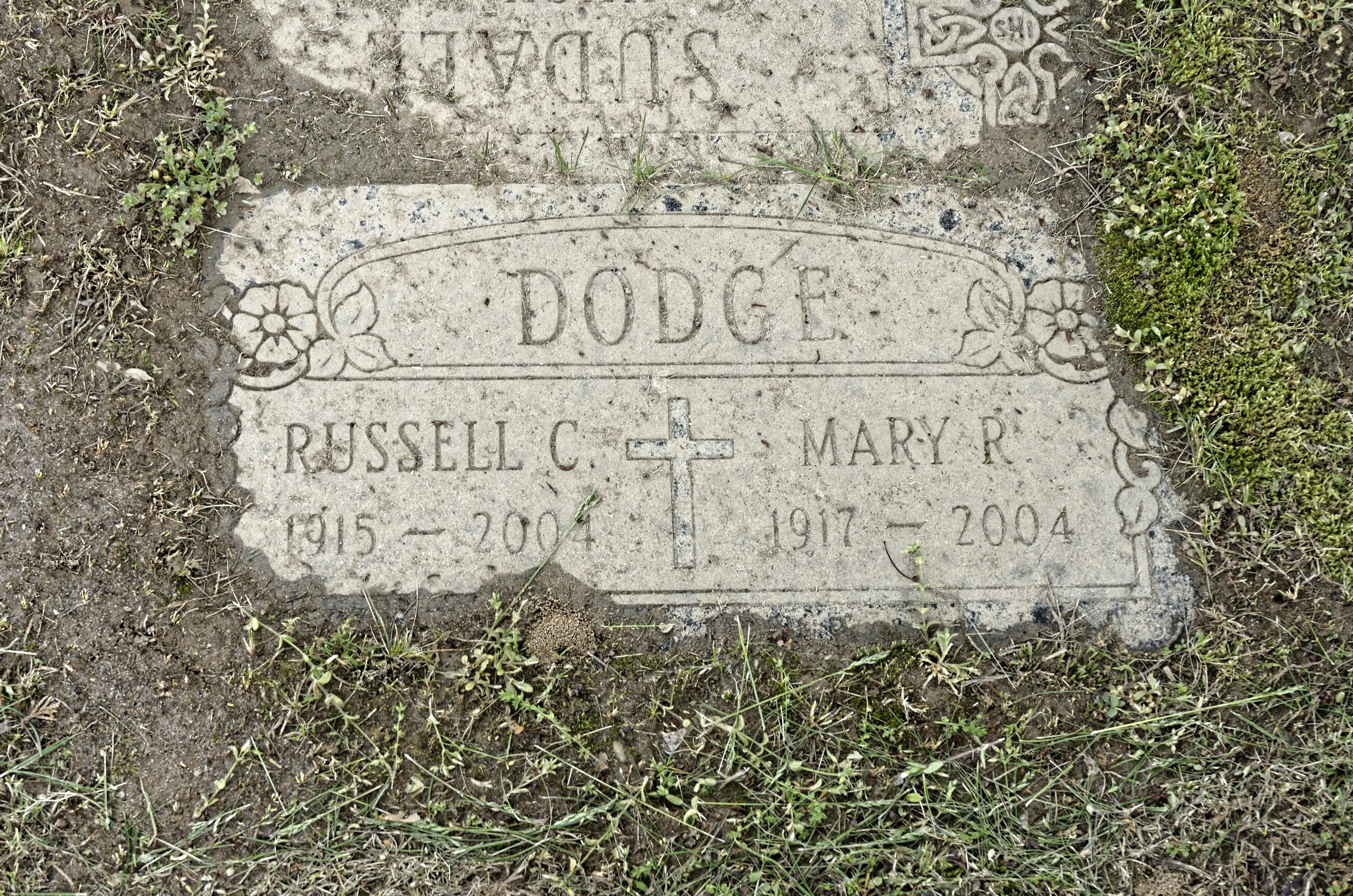 Mary R. <i>Castelli</i> Dodge