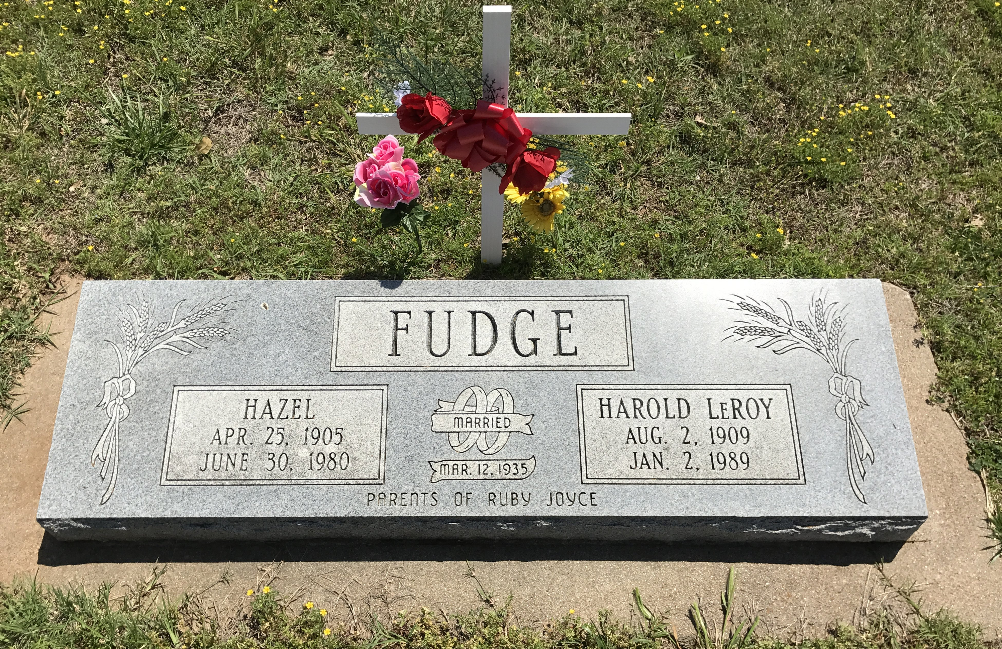 Hazel <i>Berger</i> Fudge