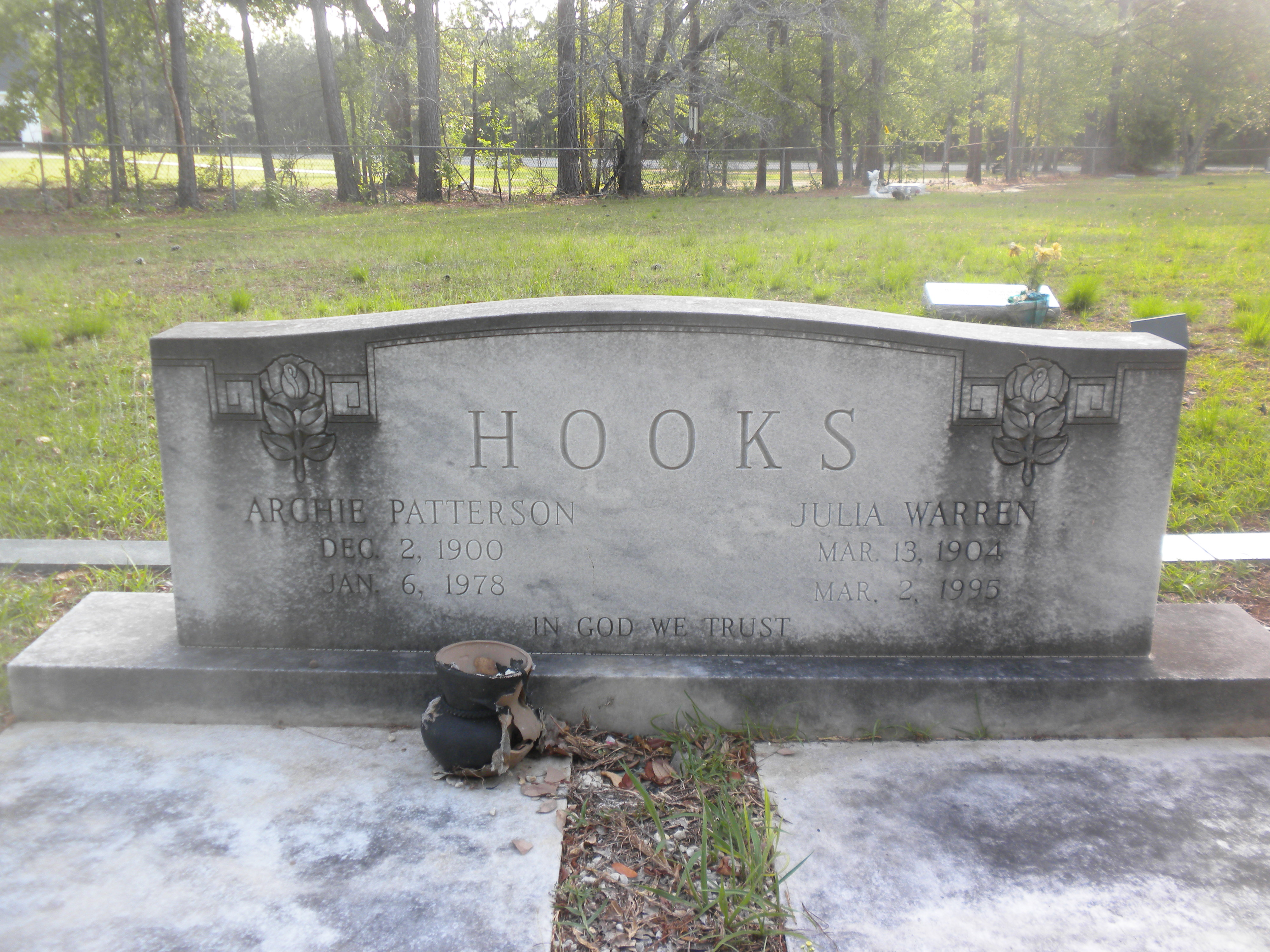 Julia <i>Warren</i> Hooks
