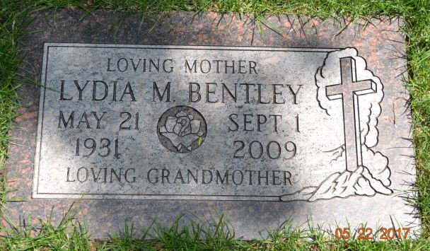 Lydia M. <i>Blome</i> Bentley