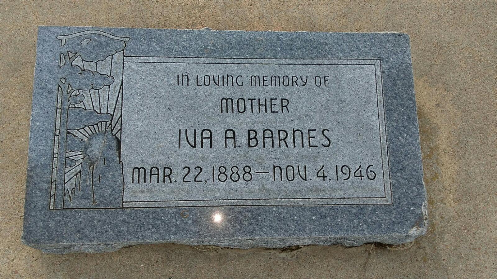 Iva A <i>Harris</i> Barnes