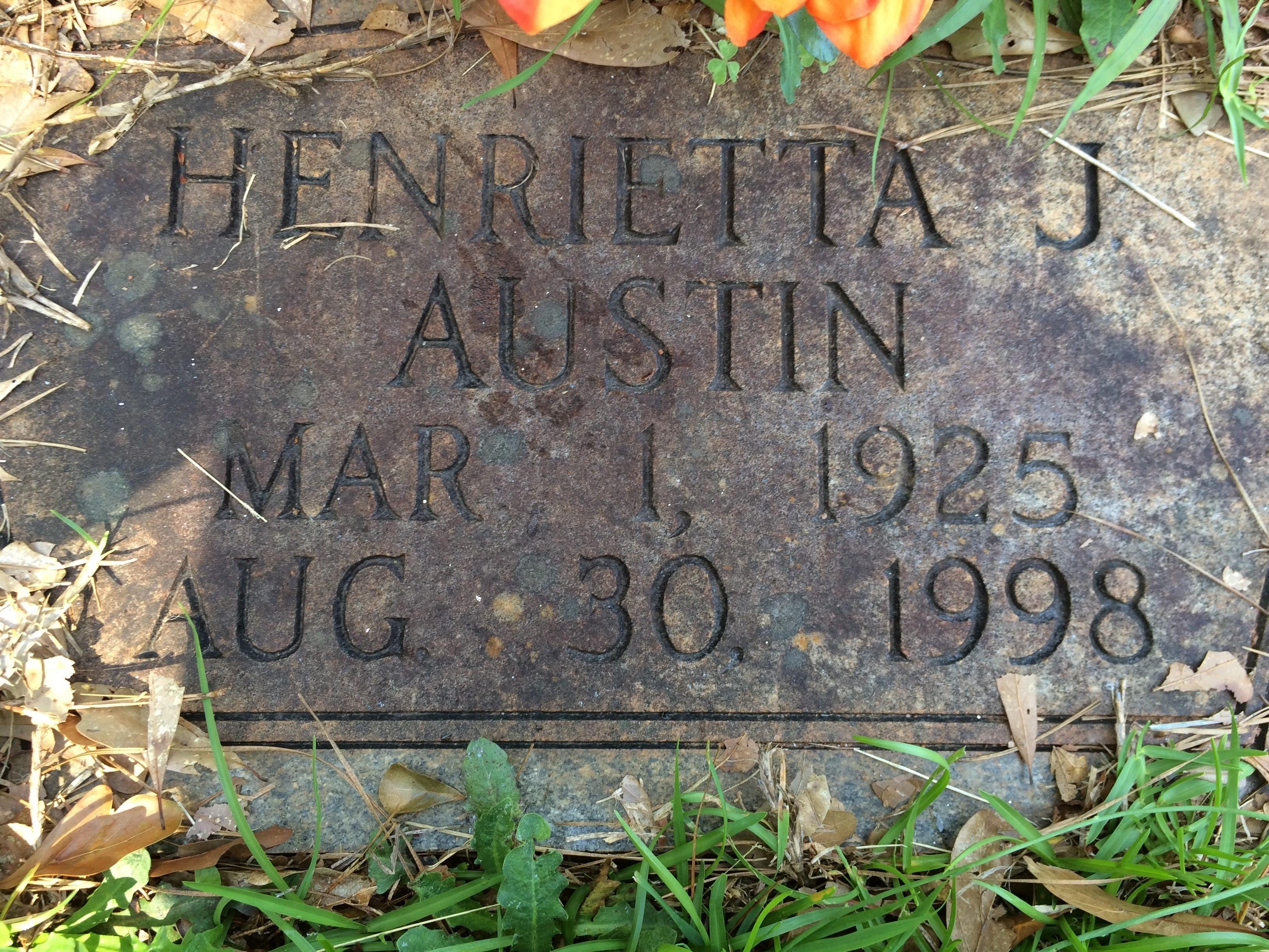 Henrietta J. Austin
