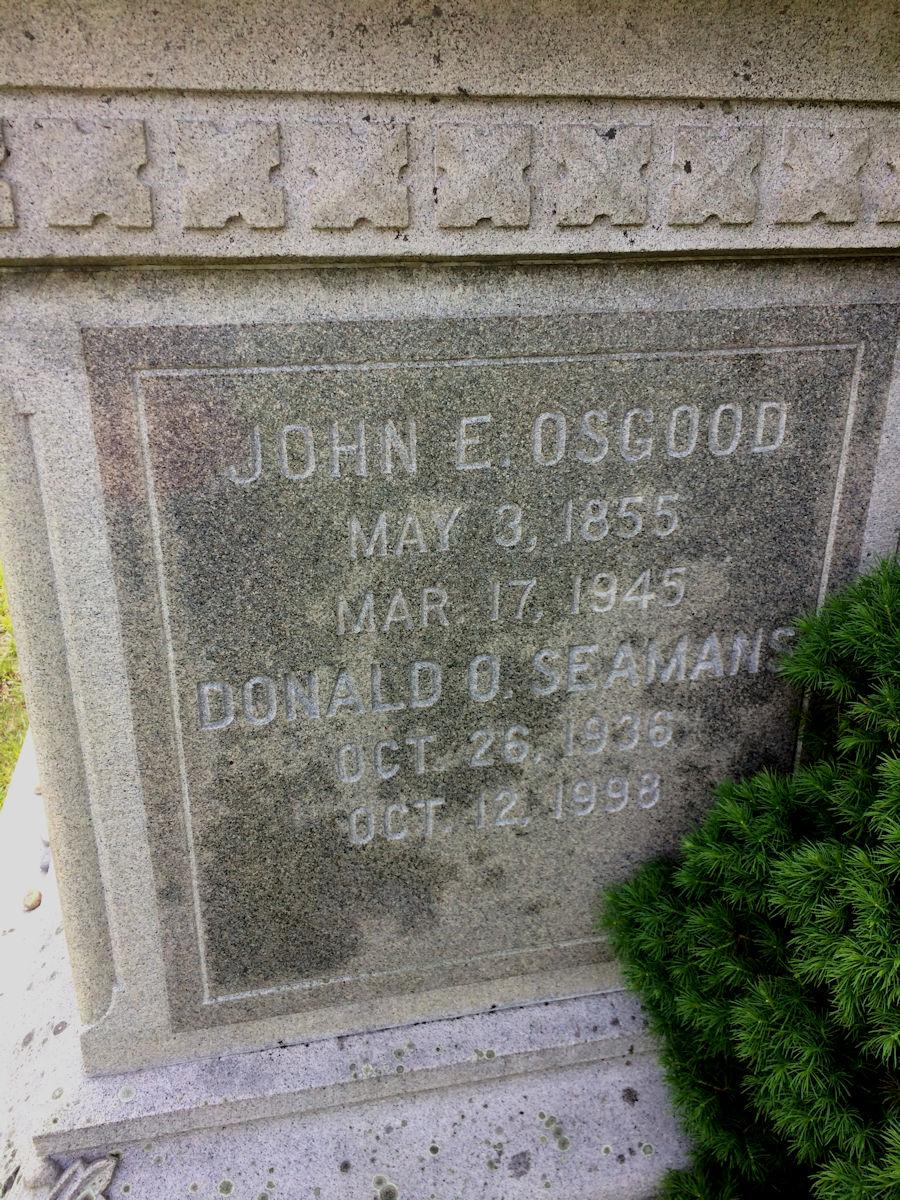 John Edward Osgood
