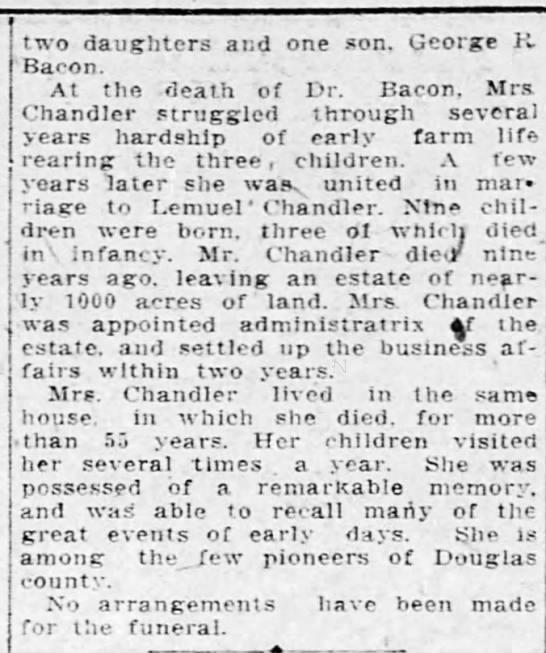 Prudence Wiley <i>Beavers</i> Chandler