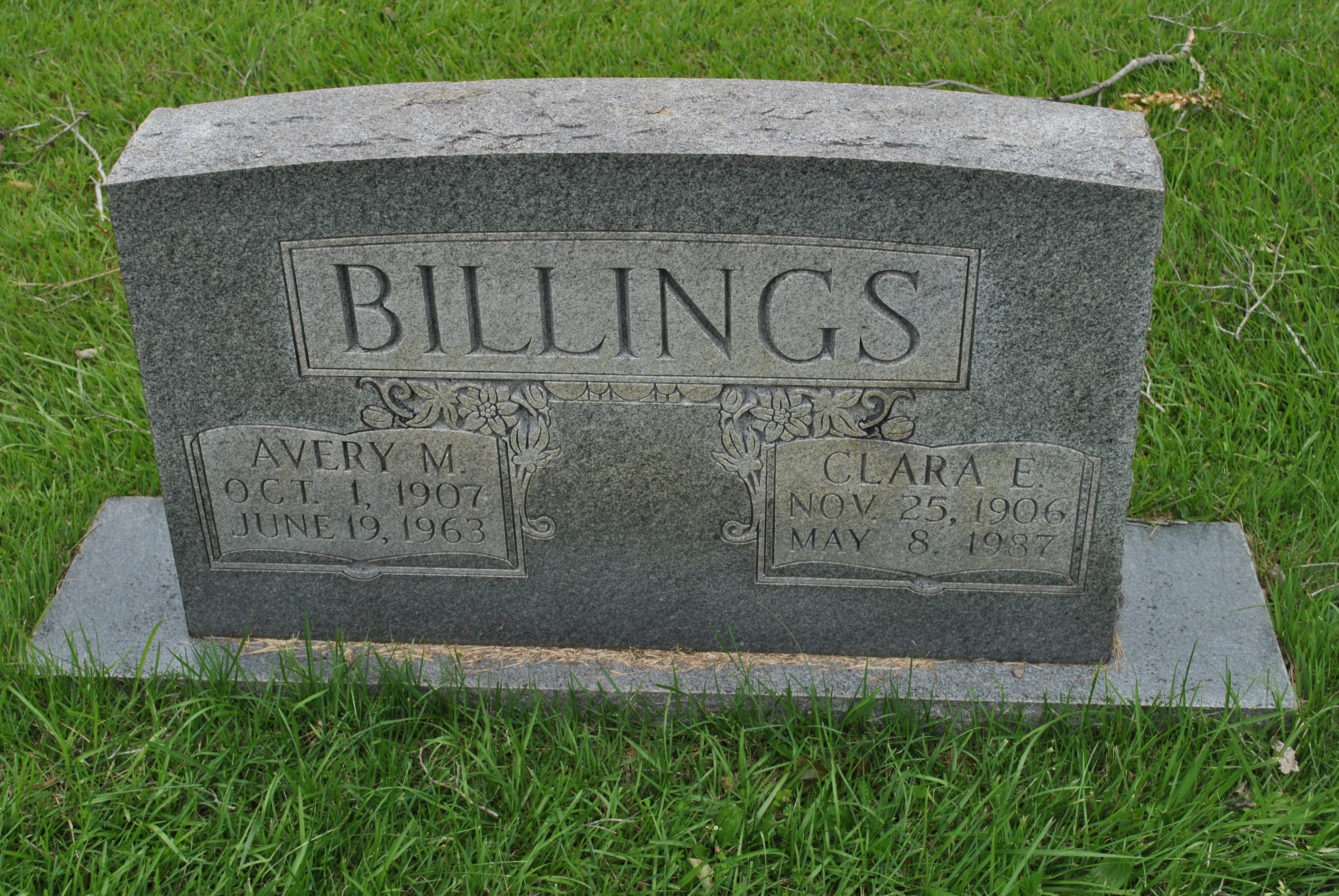 Clara E. Billings