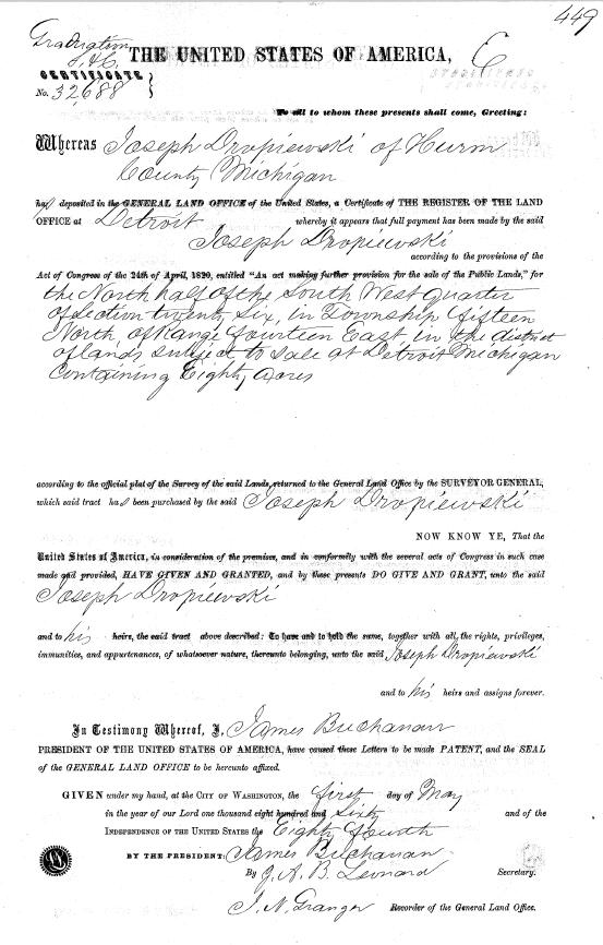 Birth Certificate Replacement Detroit Michigan - Best Design ...