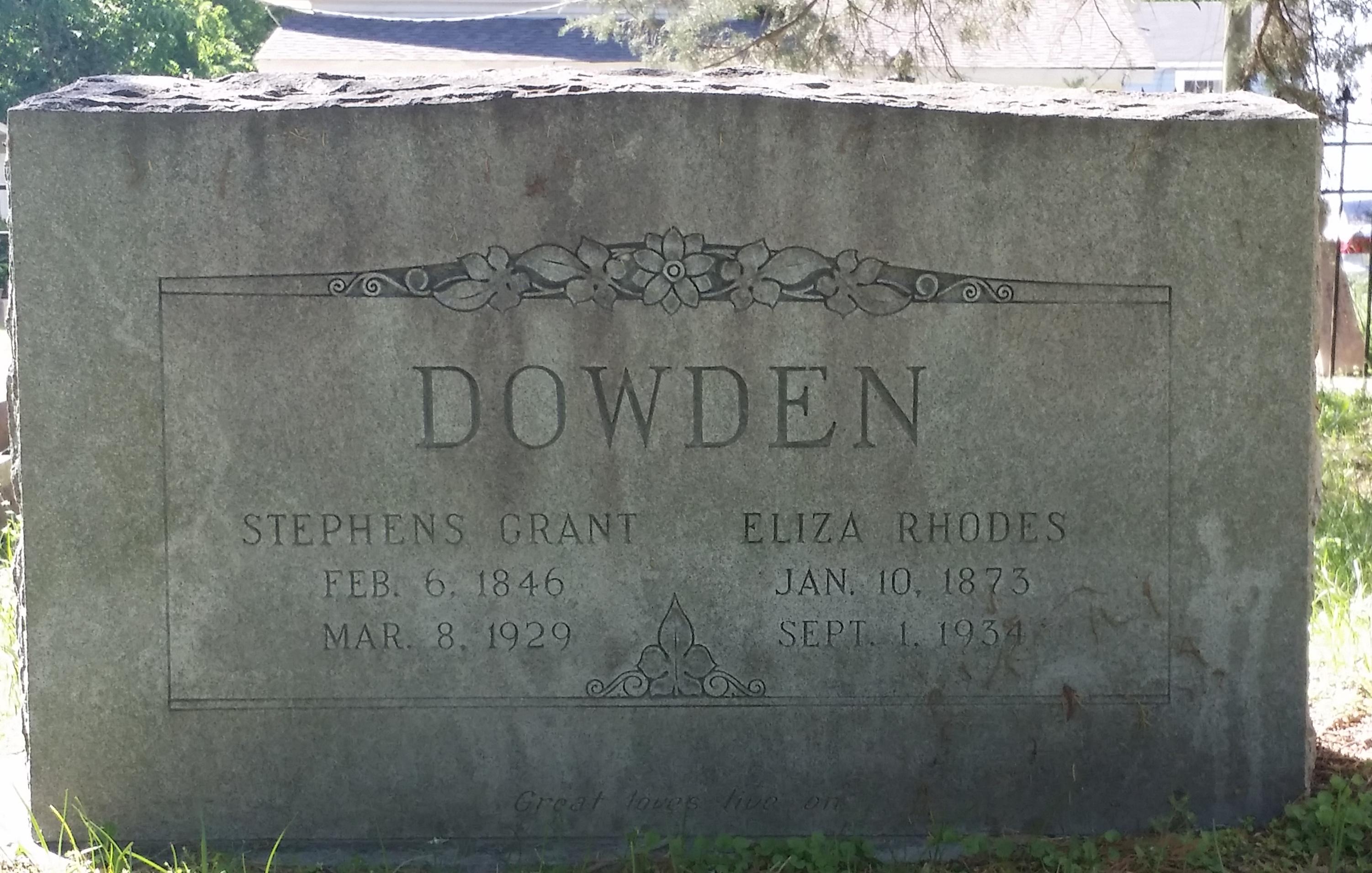 Stephen Grant Dowden