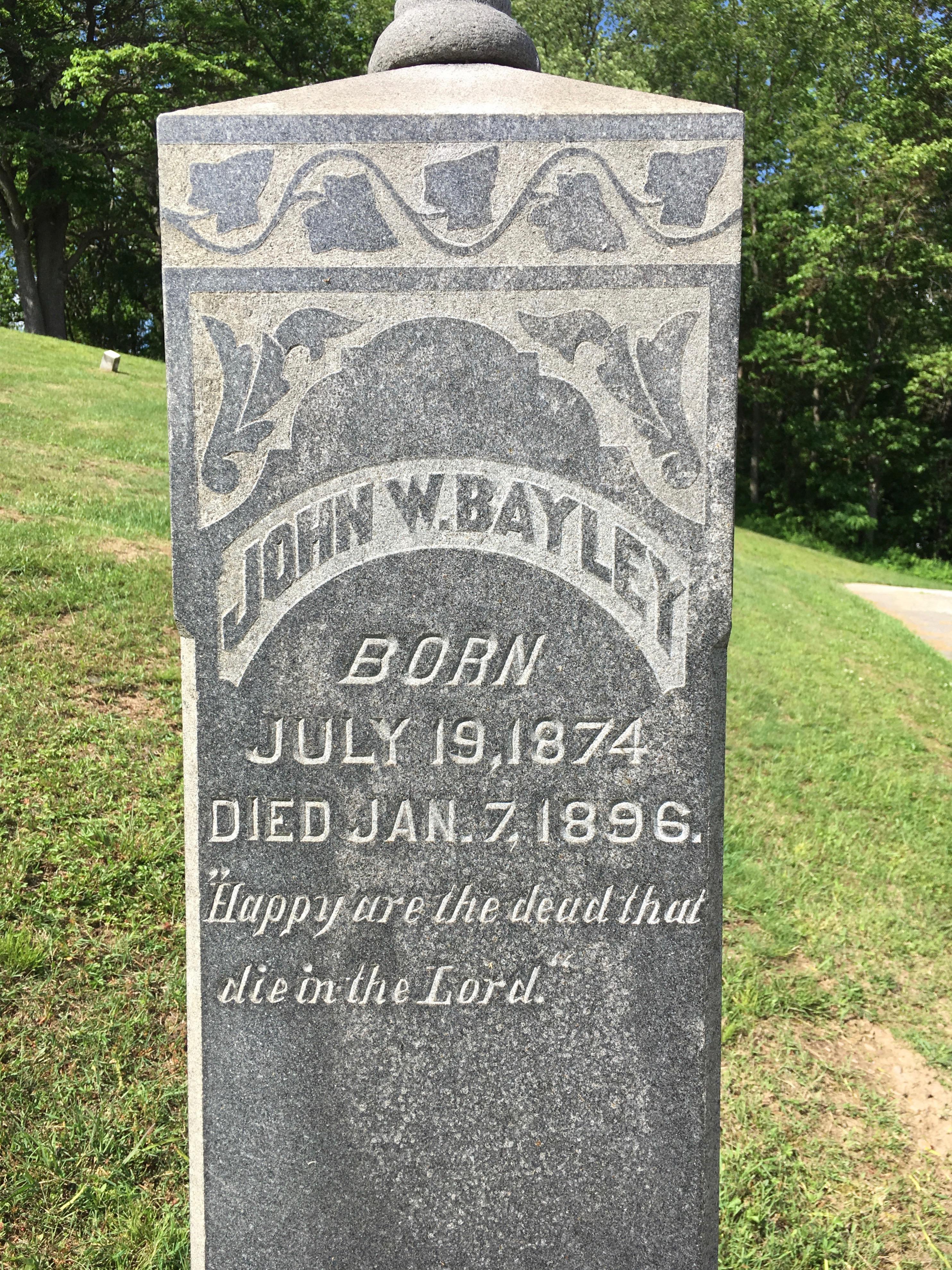 John W Bayley