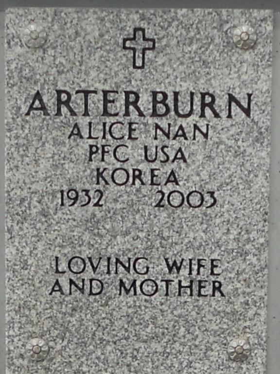 Alice Nan Arterburn