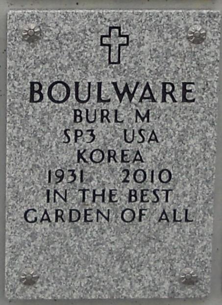 Burl M <i>Santz</i> Boulware