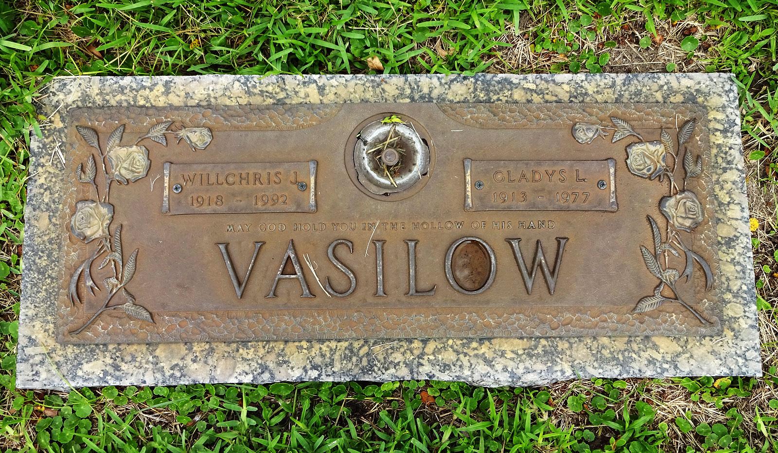 Willchris Joseph Vasilow (1918-1992) - Find A Grave Memorial