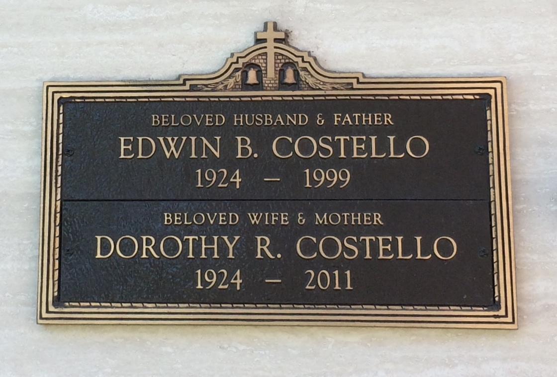 Dorothy Rita Dotty Costello