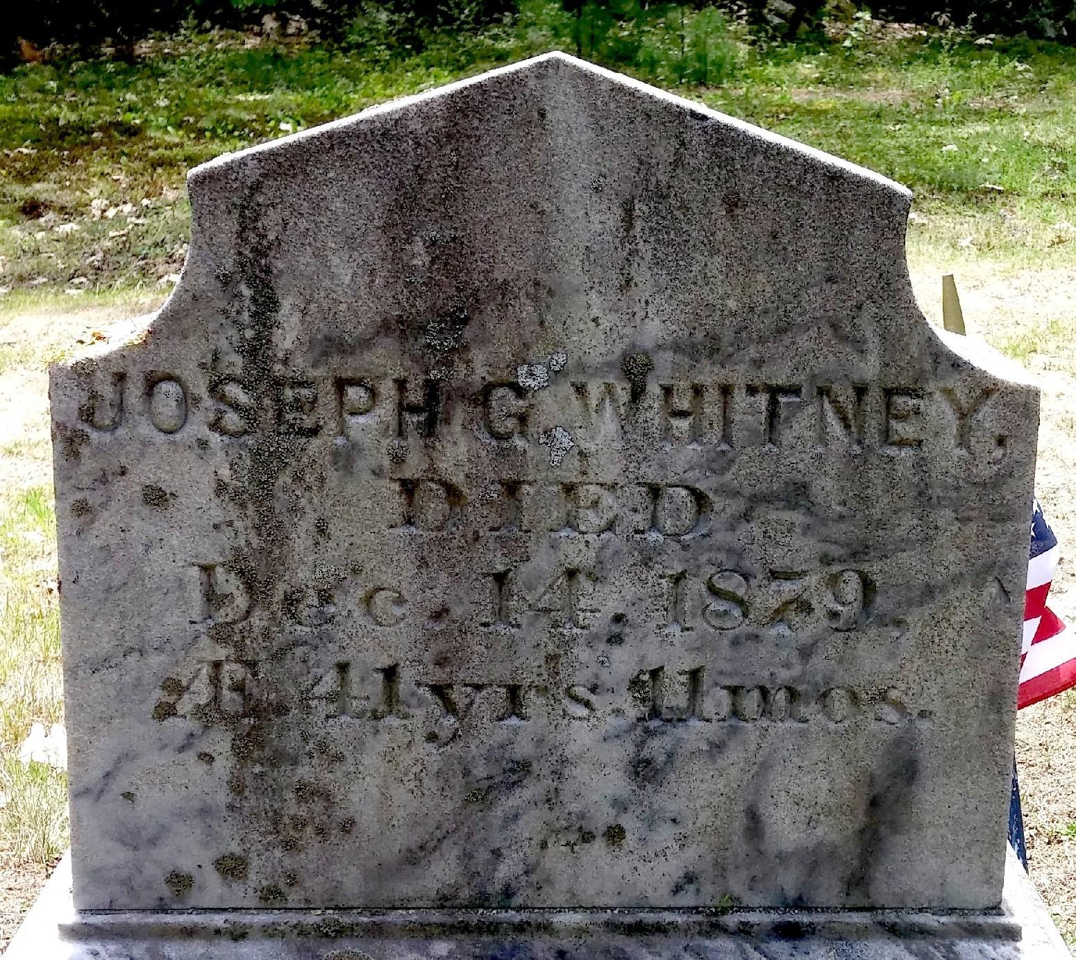 Joseph G Whitney