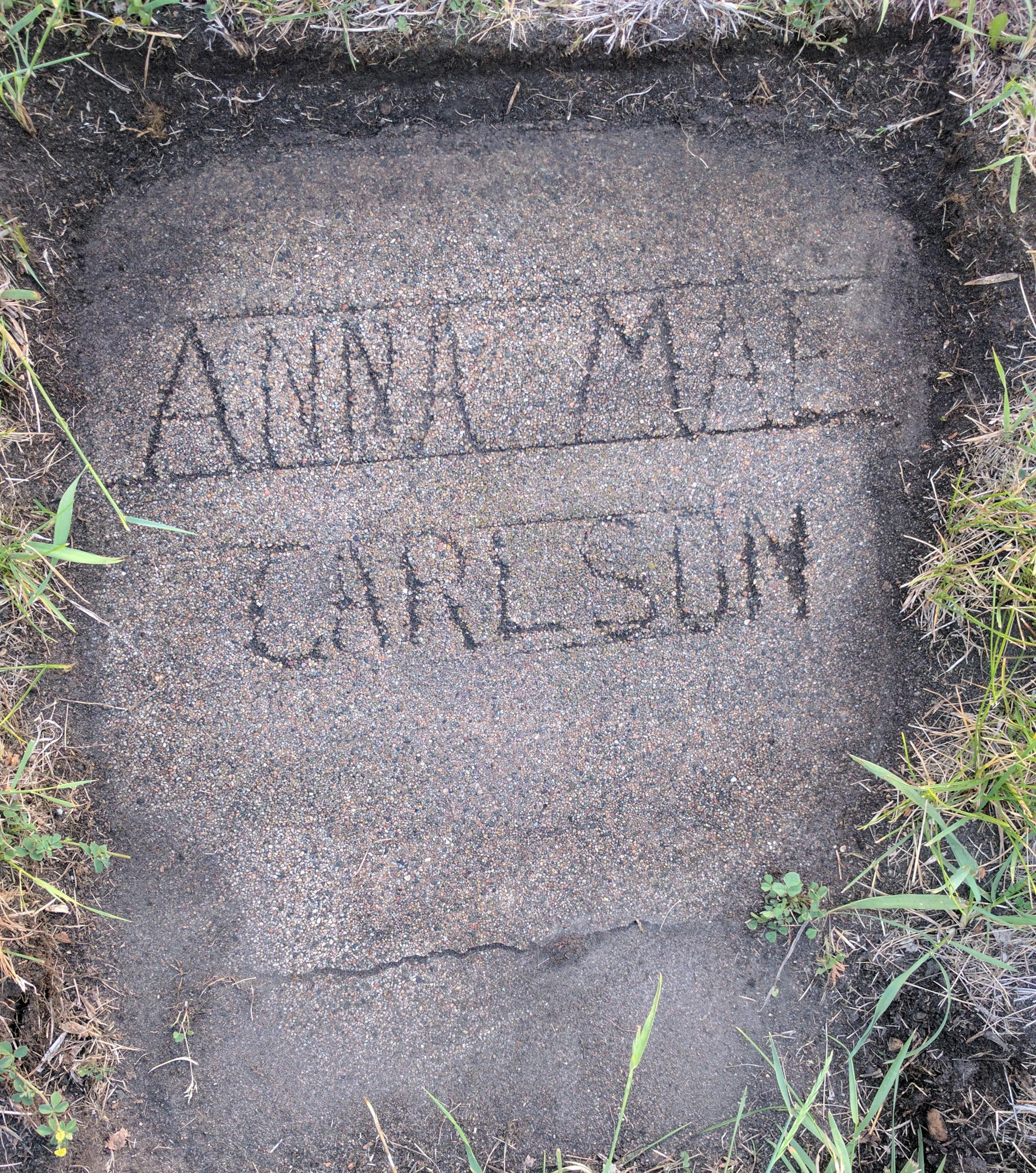 Anna mae Carlson