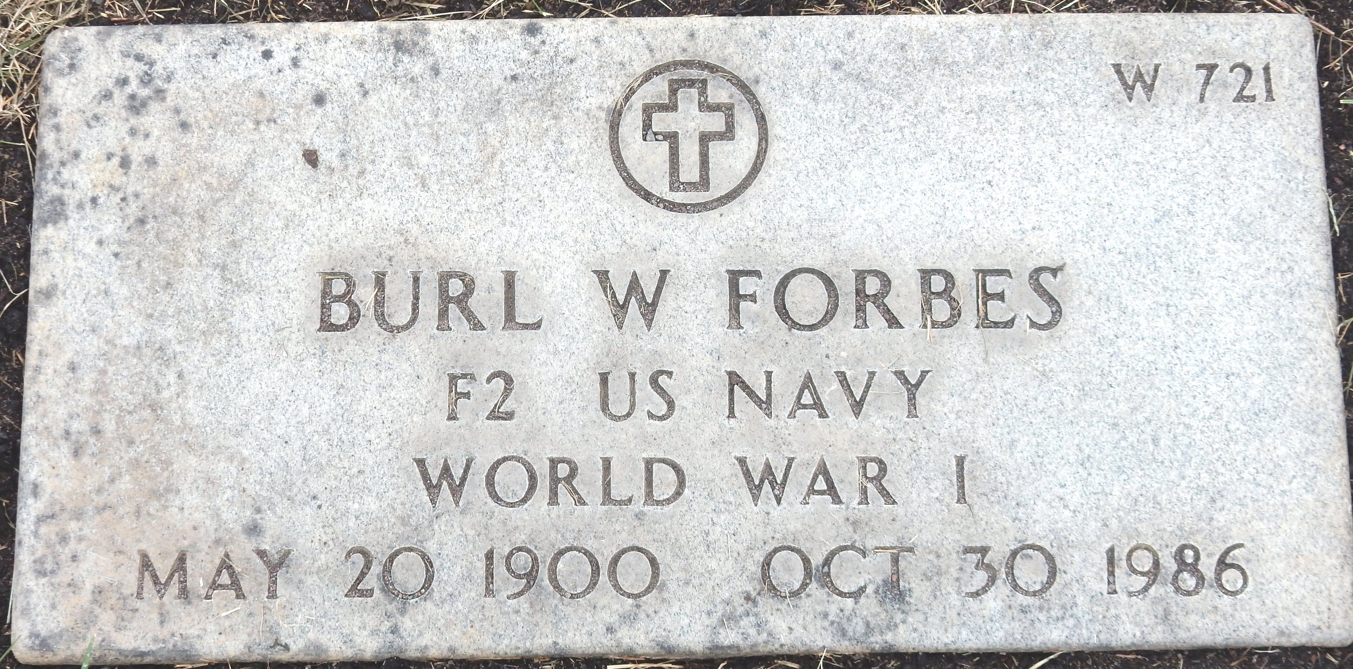 Burl William Forbes
