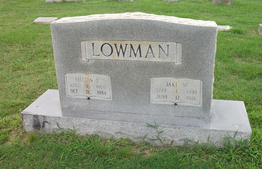 Lillian Gladys <i>Patton</i> Lowman