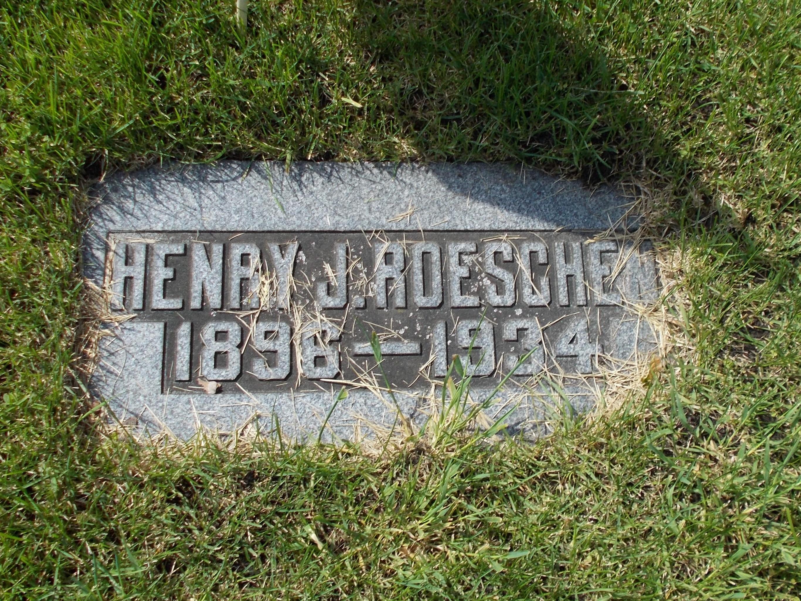 Henry John Roeschen