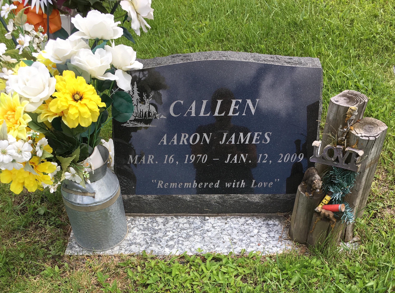 Aaron james callen 1970 2009 find a grave memorial view original izmirmasajfo