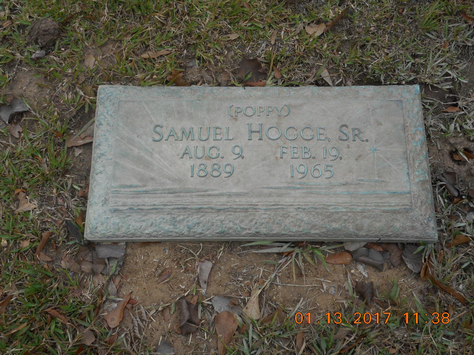 Samuel Hogge, Sr