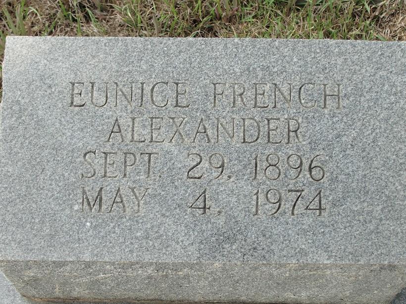 Eunice <i>French</i> Alexander
