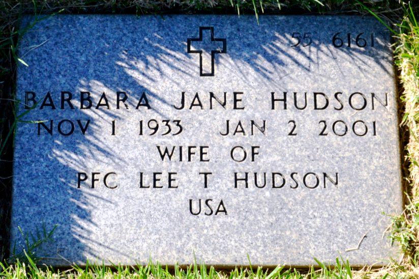 Barbara Jane <i>Wedler</i> Hudson