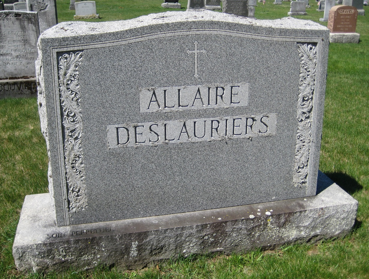 Mary Jane Marie Jeanne <i>Allaire</i> Deslauriers