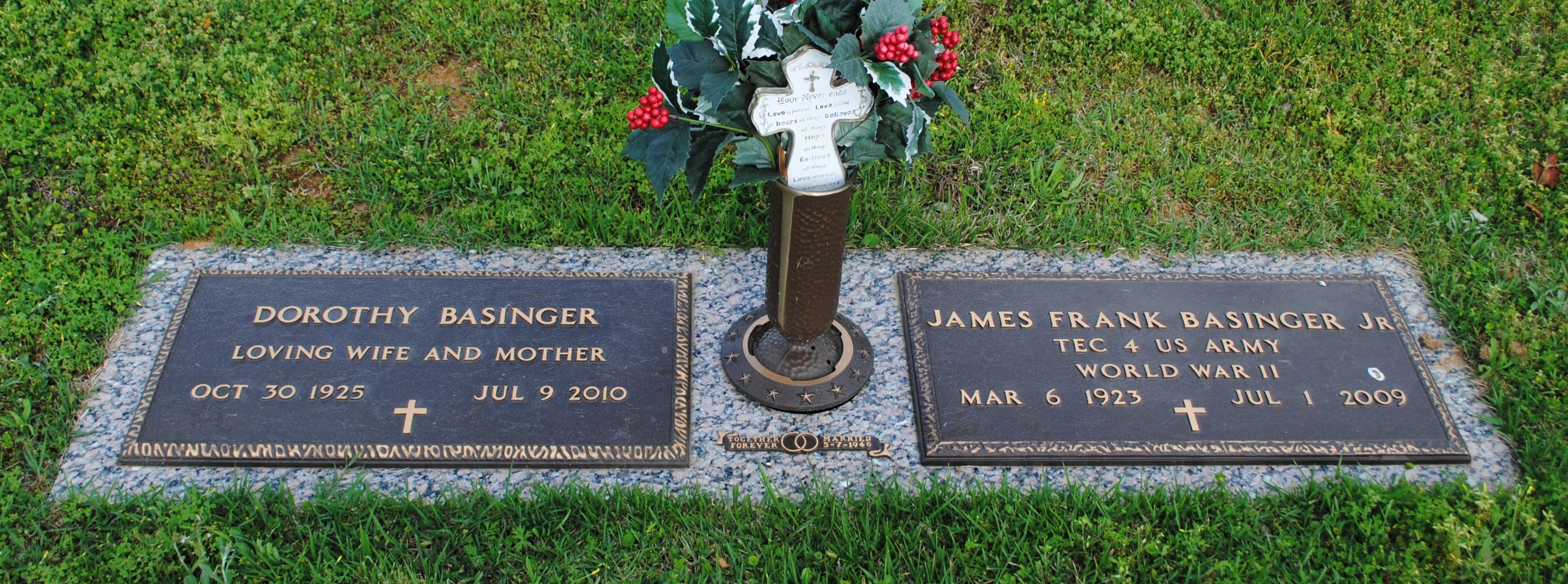 James Frank Pop Basinger, Jr