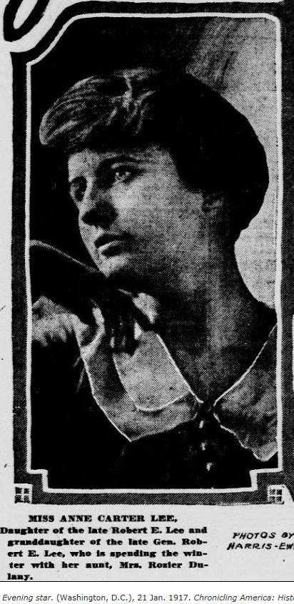 Anne Carter <i>Lee</i> Ely