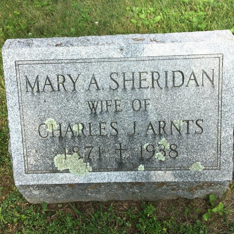 Mary A <i>Sheridan</i> Arnts