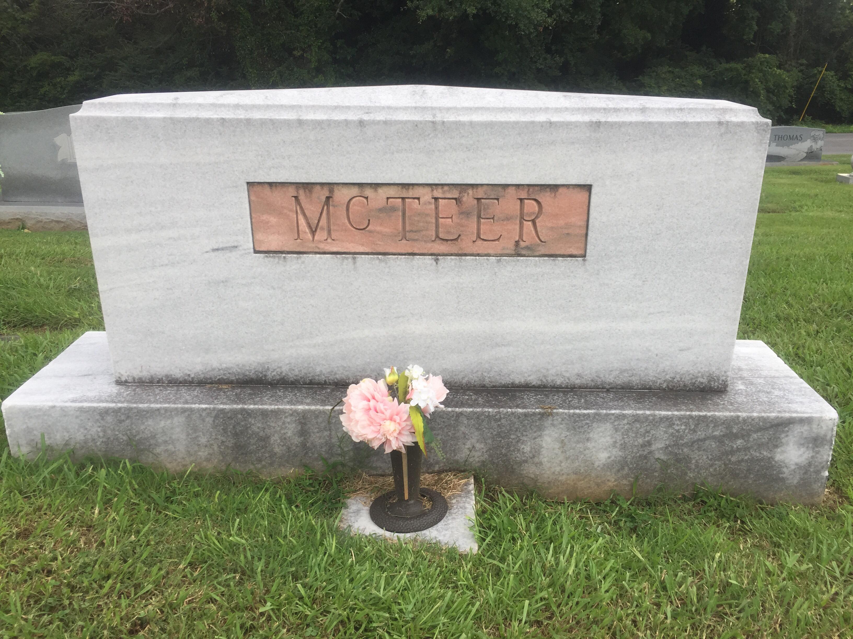 Adez Hamrick Mcteer 1911 2004 Find A Grave Memorial