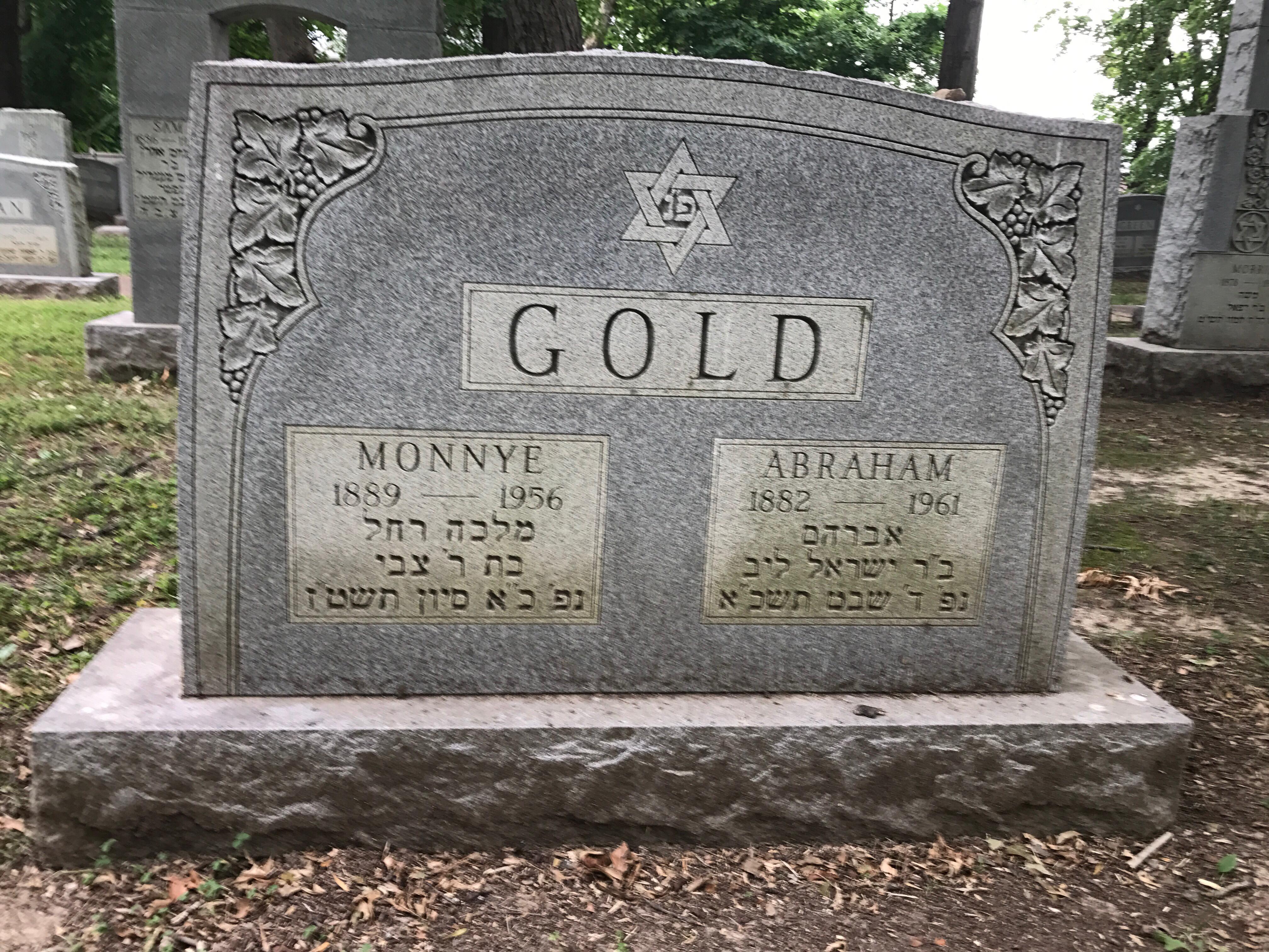 Monnye Mollie Gold
