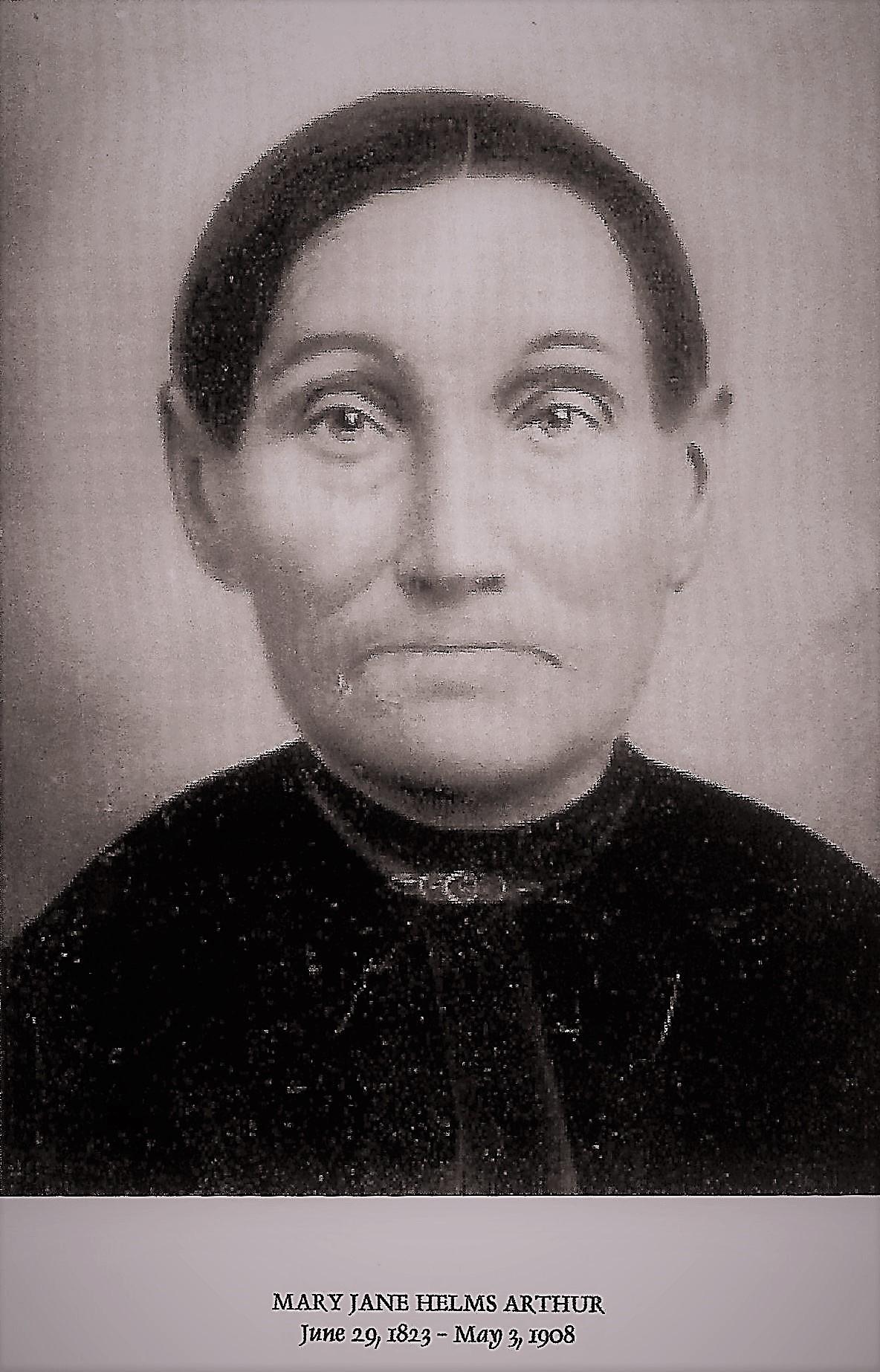 Mary Jane <i>Helms</i> Arthur