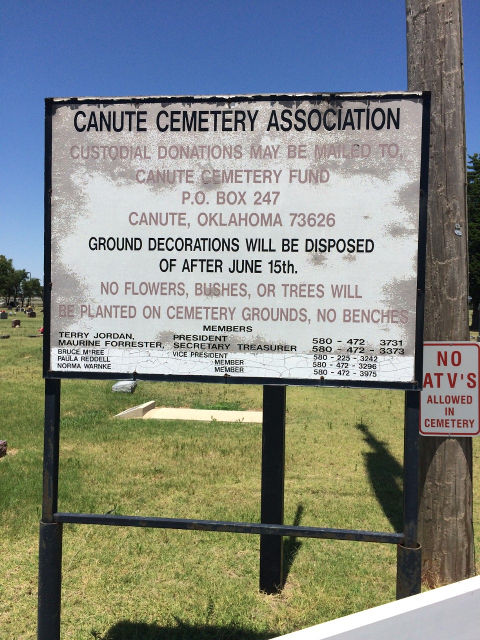 Canute Cemetery