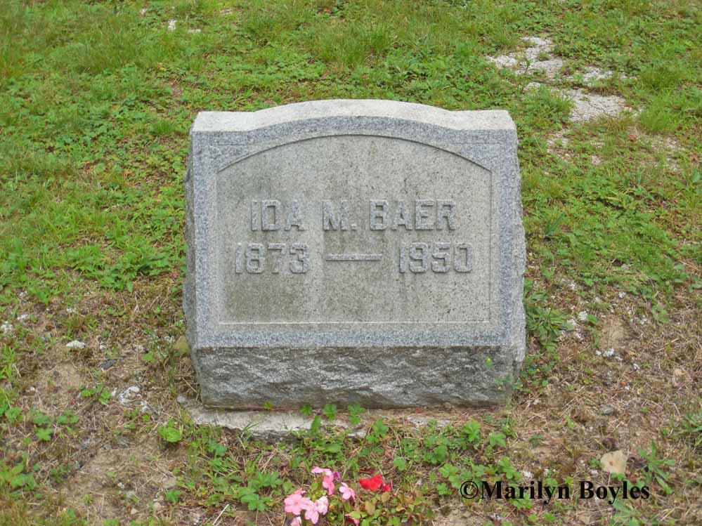 Ida M. <i>McCracken</i> Baer