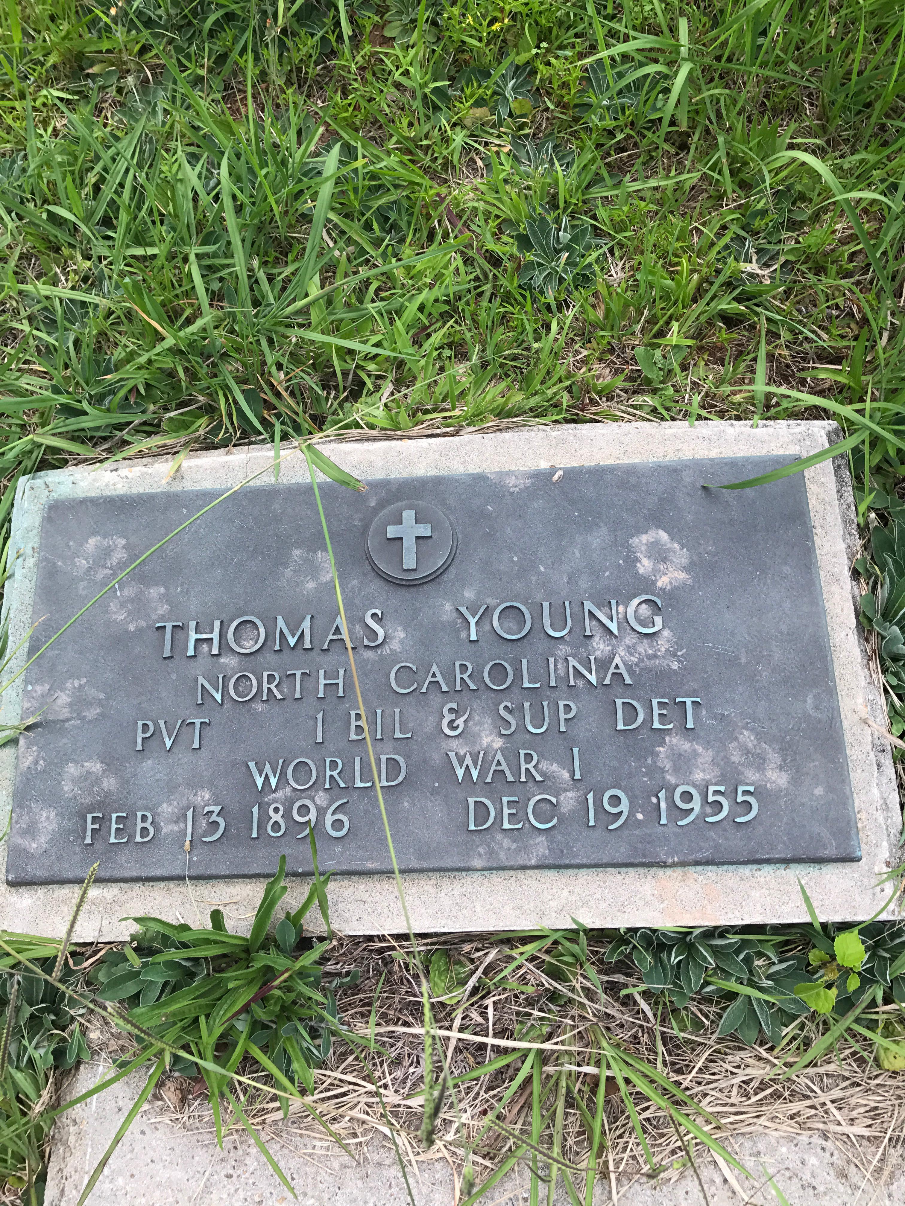 PVT Thomas C. Young