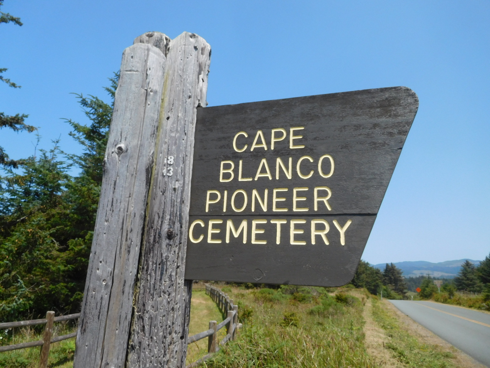 Cape Blanco Pioneer Cemetery in Port Orford Oregon Find A Grave