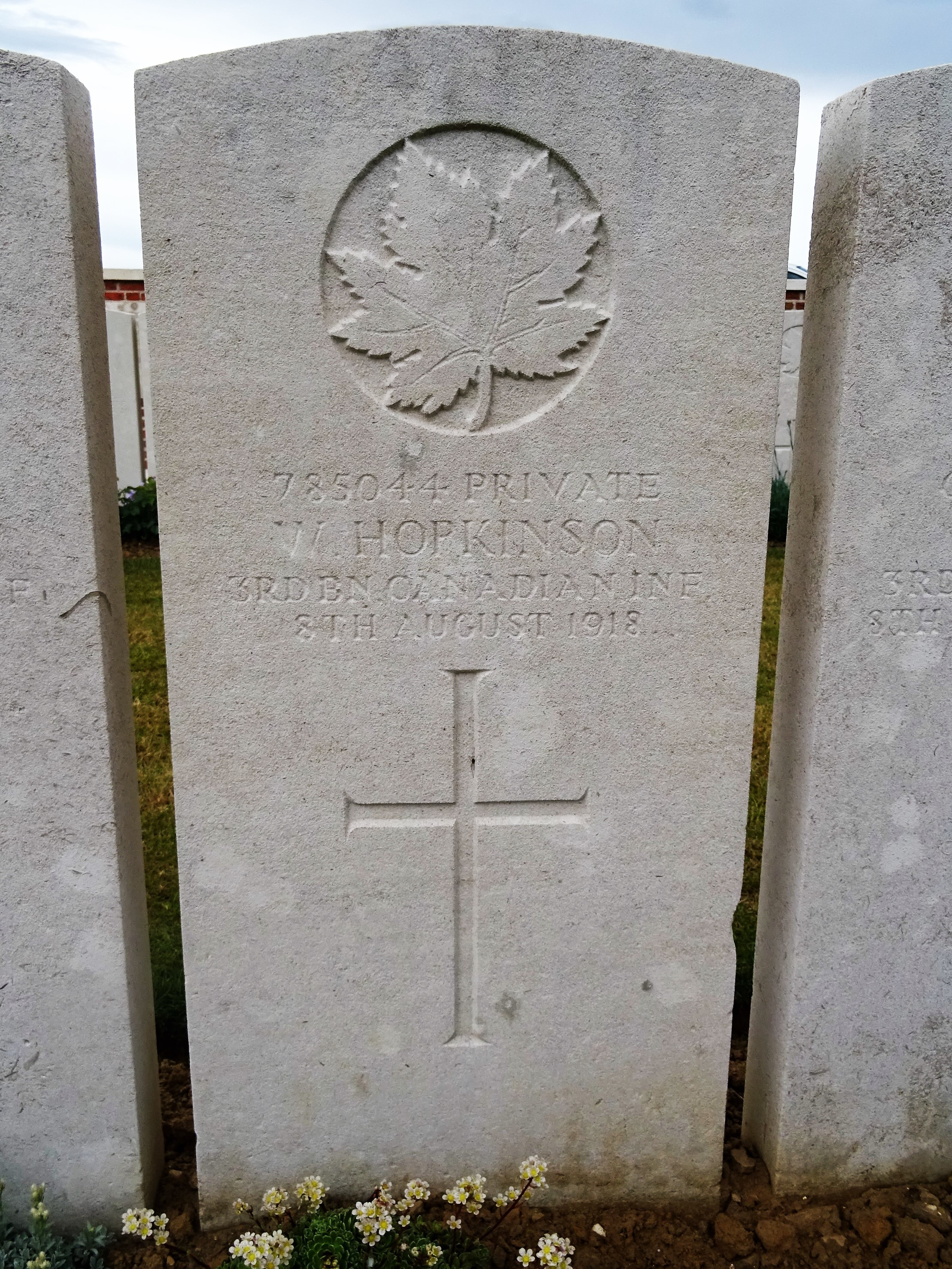Private W Hopkinson