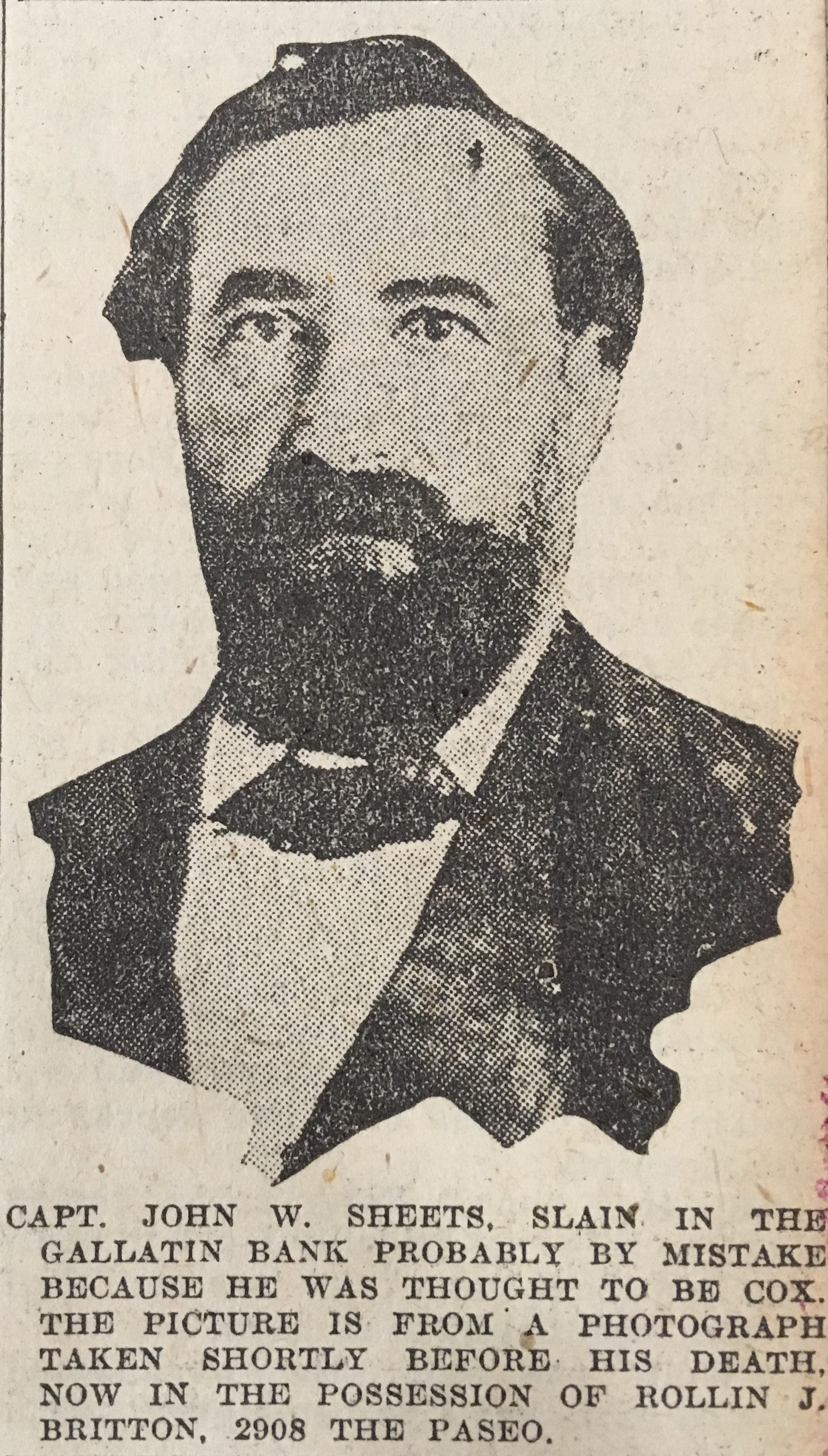 CPT John W. Sheets (1821-1869) - Find A Grave Memorial